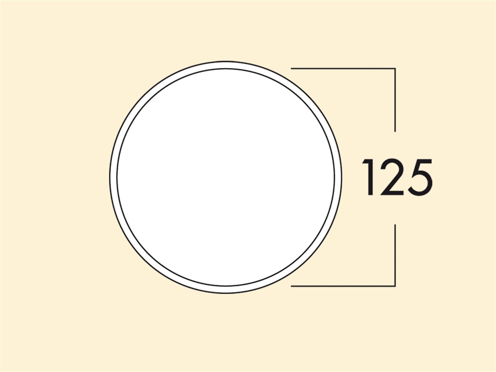 Compair 402.2.022 Klima-Blow-E 125 Mauerkasten