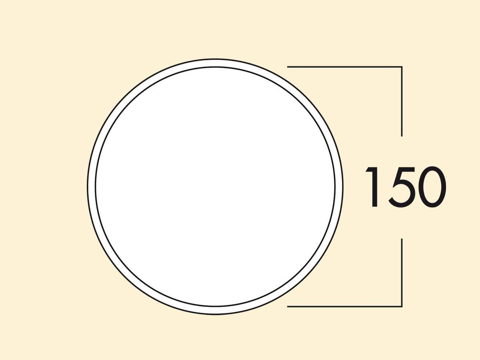 Compair 404.4.047 K-Klima-R 150/150 Mauerkasten
