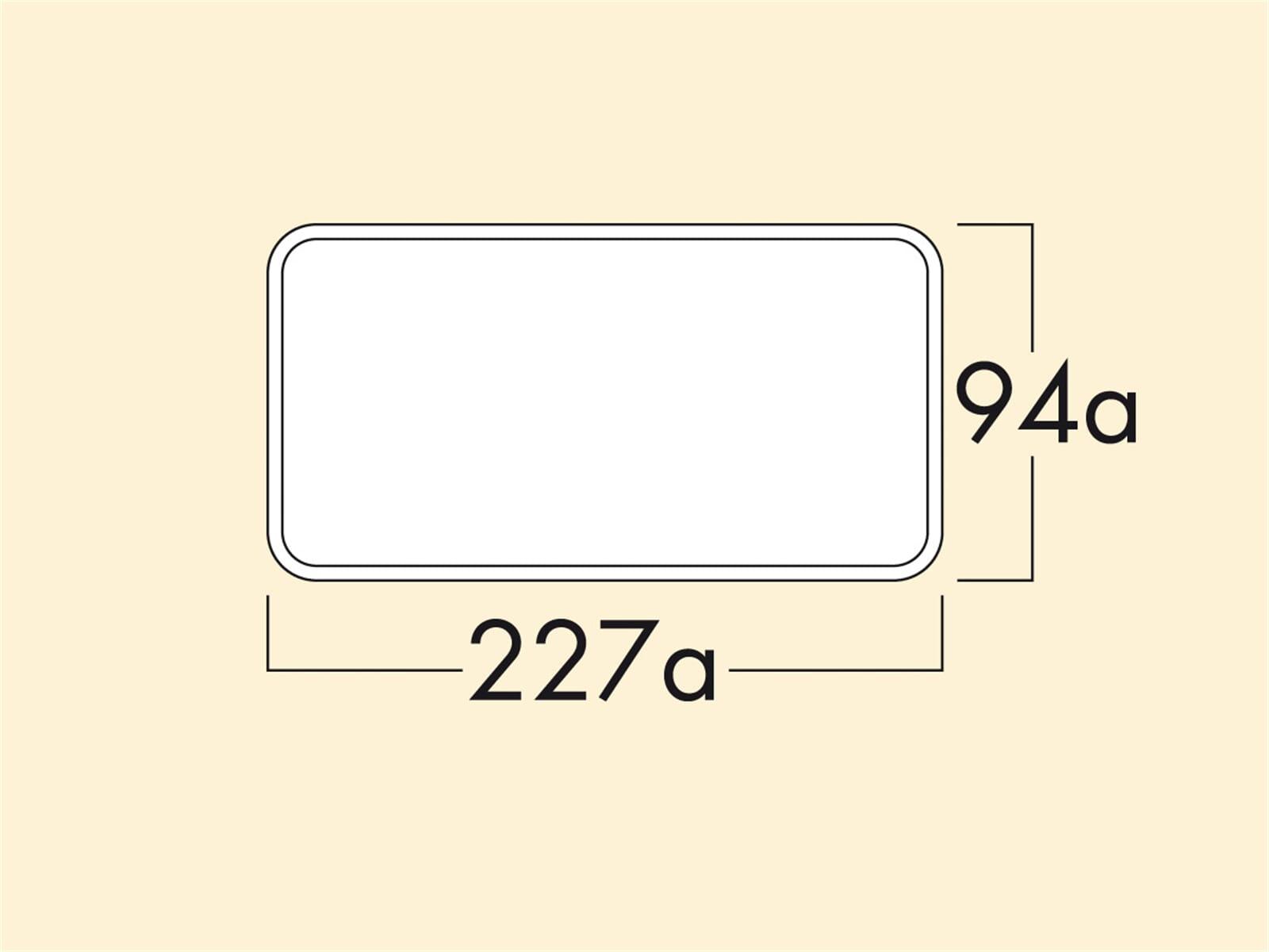 Compair 404.3.041 Flow Star GTS 150 F Mauerkasten