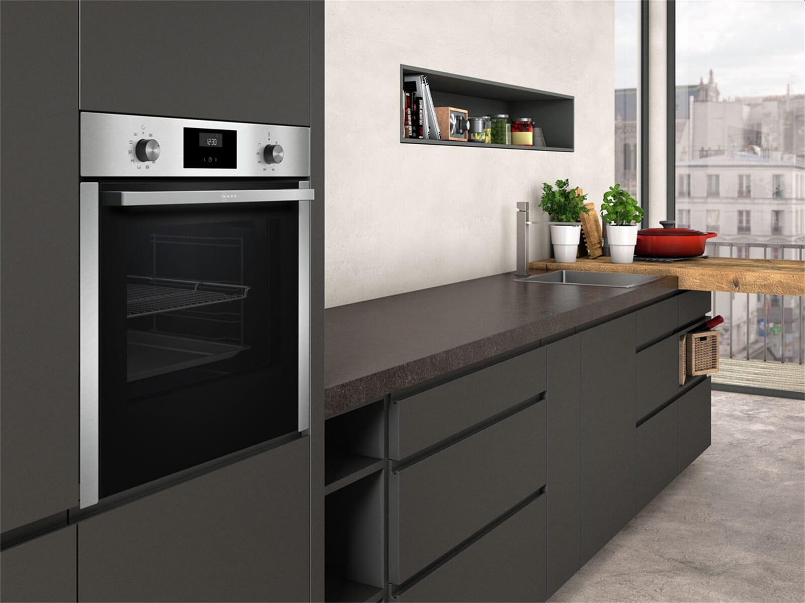 neff set backofen bcc3622 induktionskochfeld tbt4800n 4250548707589 ebay. Black Bedroom Furniture Sets. Home Design Ideas