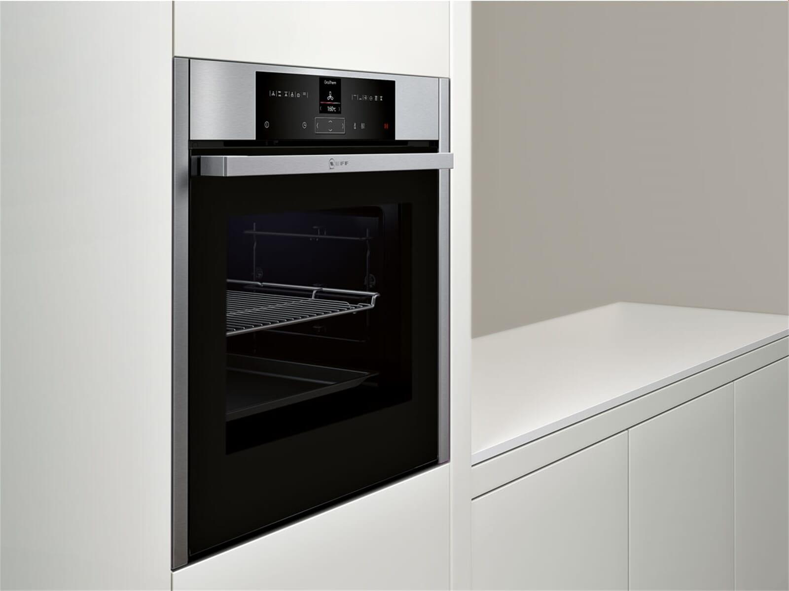 neff bcr 2522 n pyrolyse backofen edelstahl. Black Bedroom Furniture Sets. Home Design Ideas
