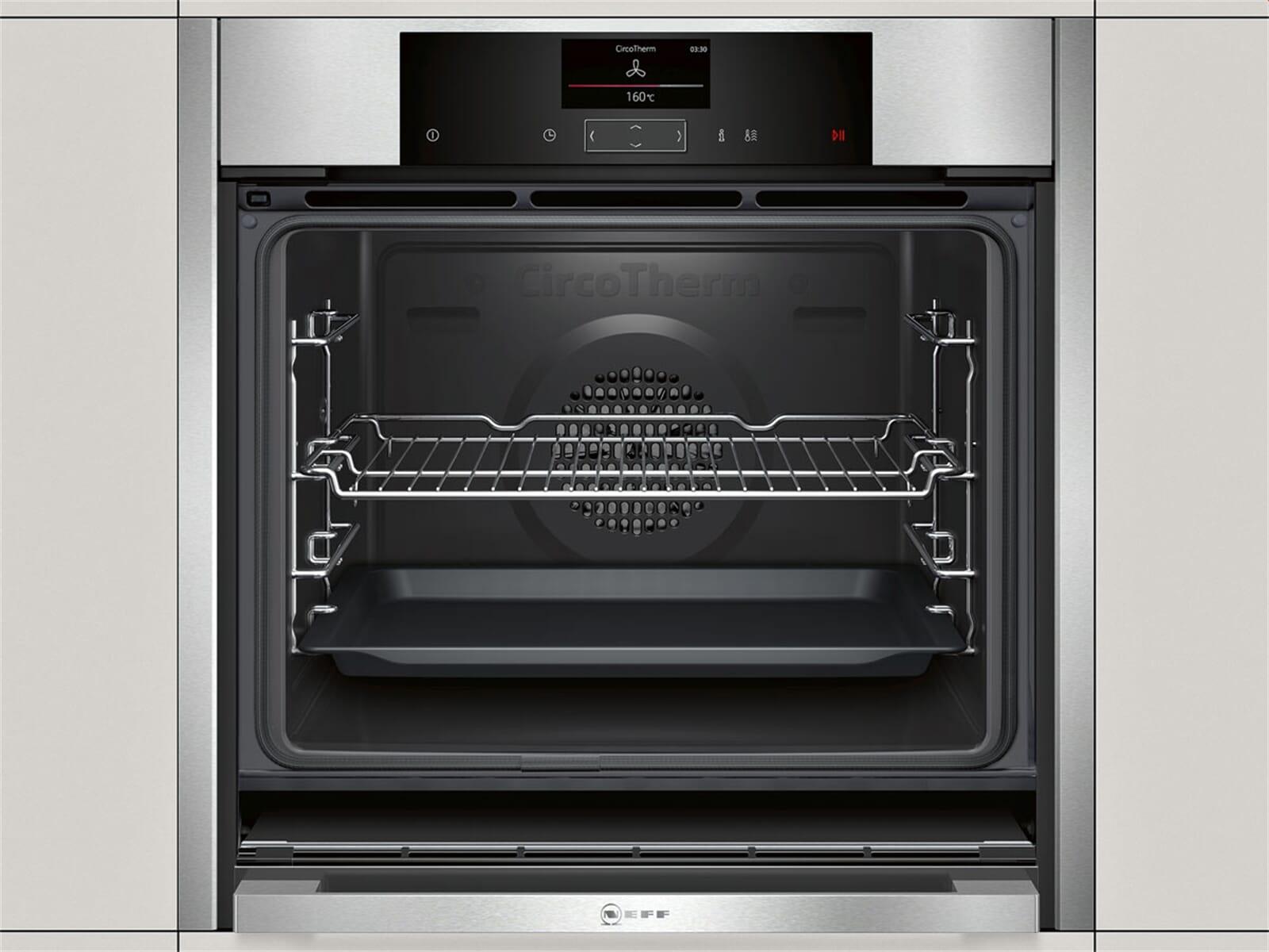 neff bcs5522n pyrolyse backofen edelstahl. Black Bedroom Furniture Sets. Home Design Ideas