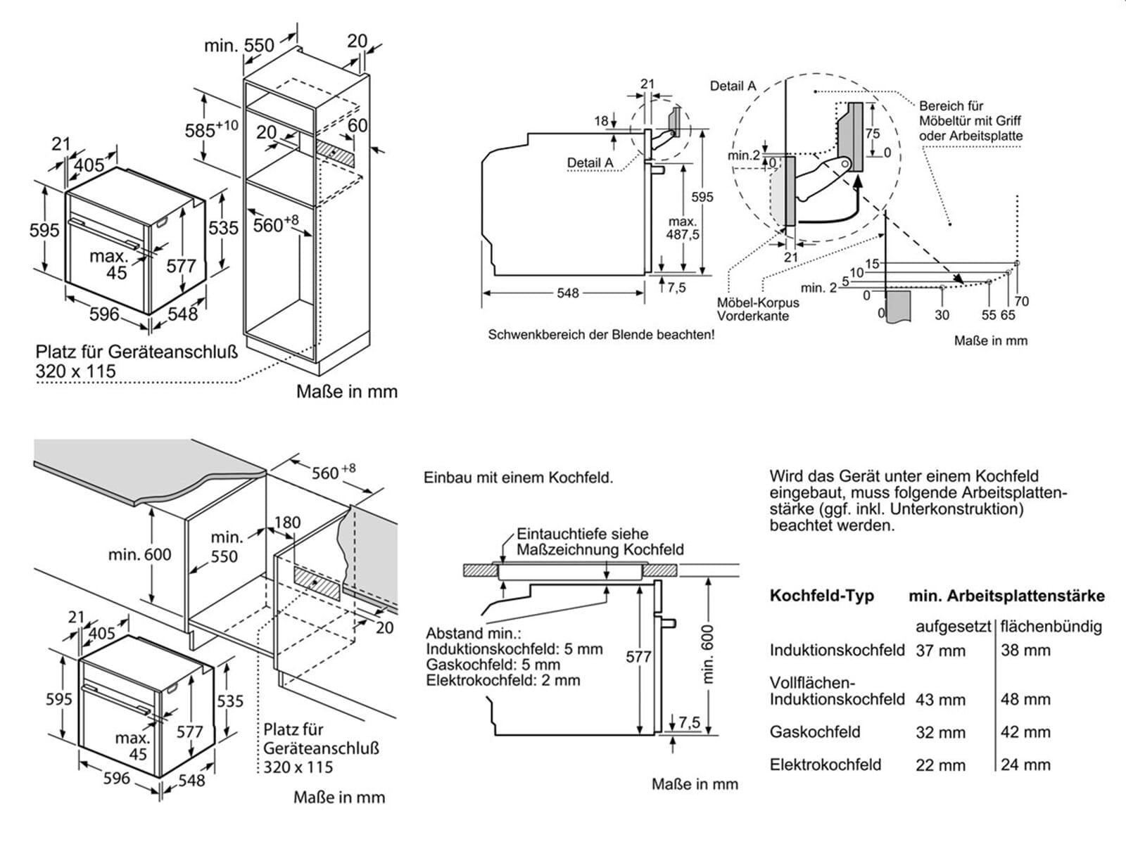 neff bvr 5522 n pyrolyse backofen edelstahl. Black Bedroom Furniture Sets. Home Design Ideas