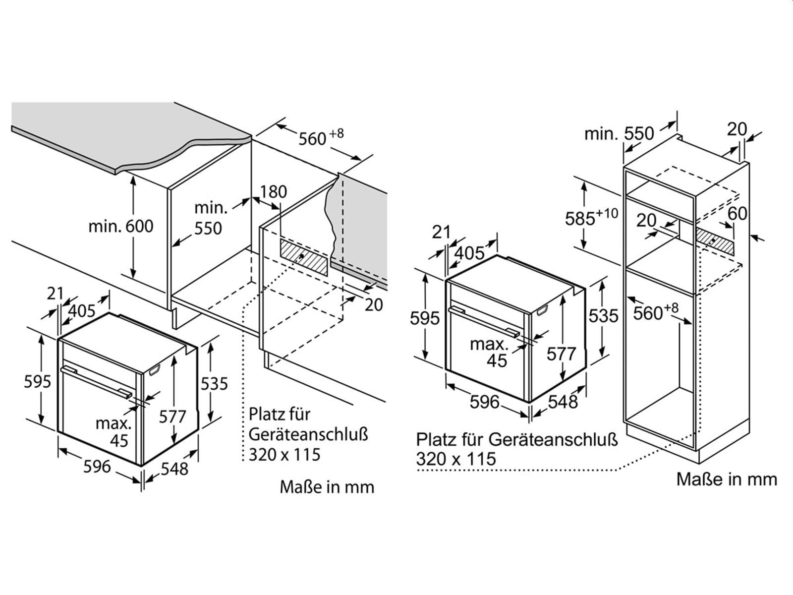 neff bvs5522n pyrolyse backofen edelstahl. Black Bedroom Furniture Sets. Home Design Ideas