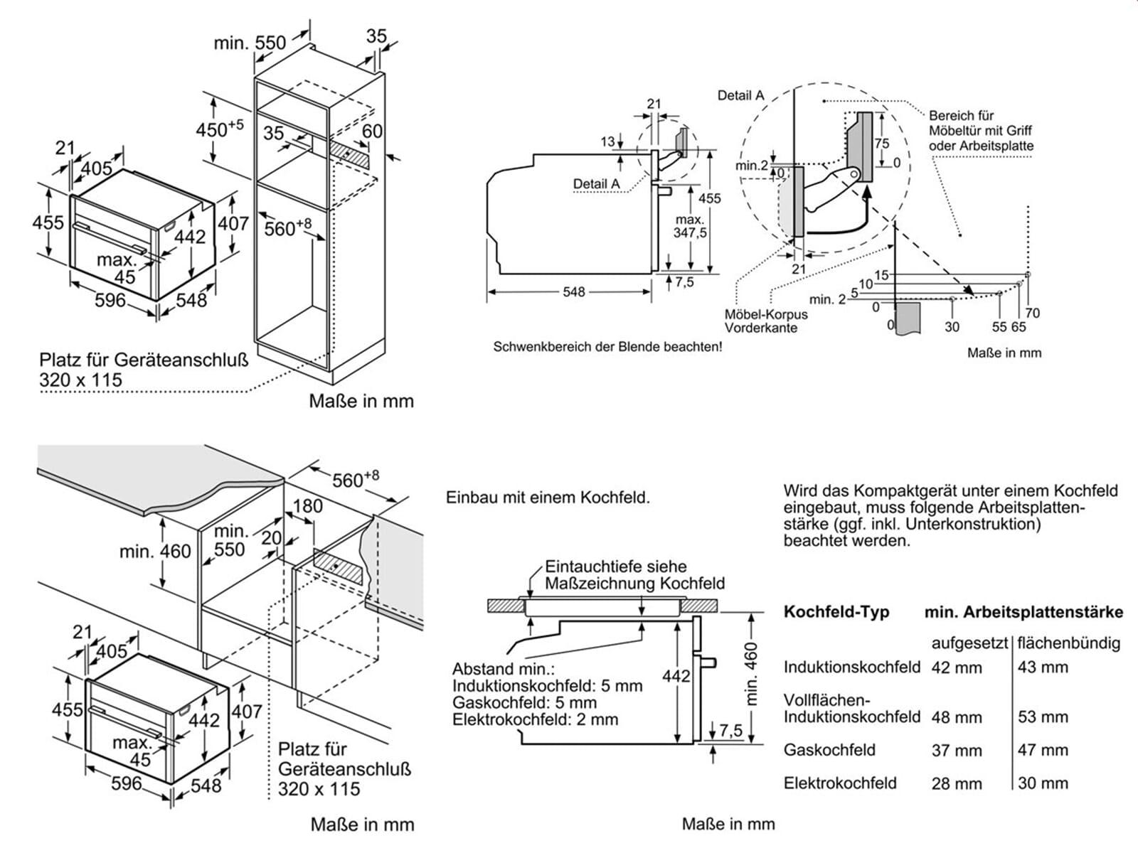 Neff CFT 1624 N Kompakt Dampfgar Backofen Edelstahl