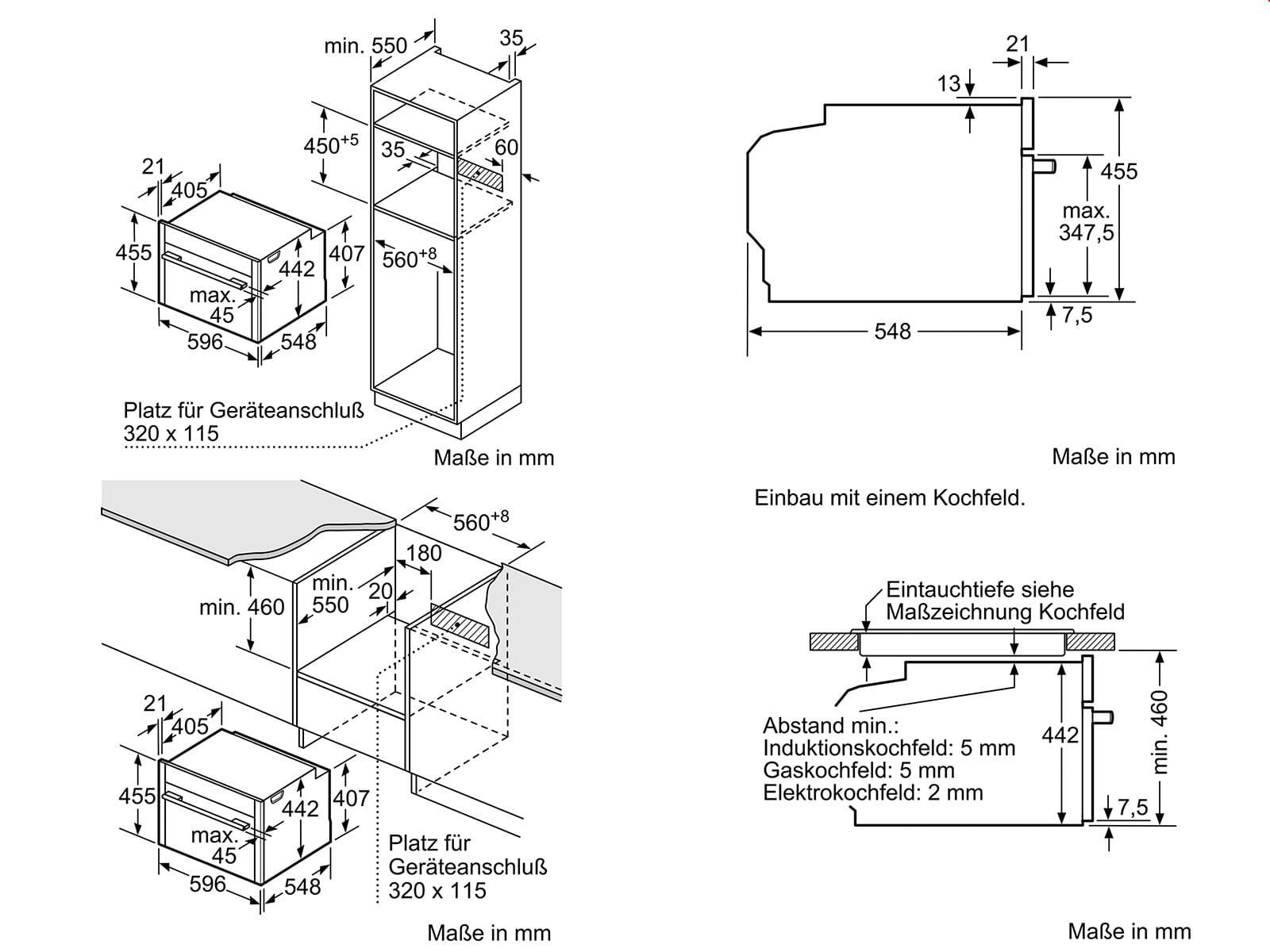 Neff CMT2623N Kompakt Backofen mit Mikrowelle Edelstahl
