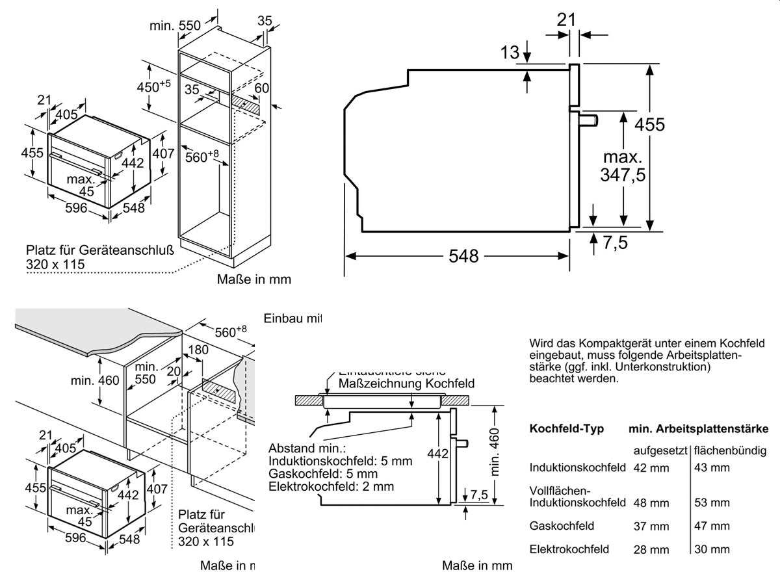 Neff CMT 1623 N Kompakt Backofen mit Mikrowelle Edelstahl