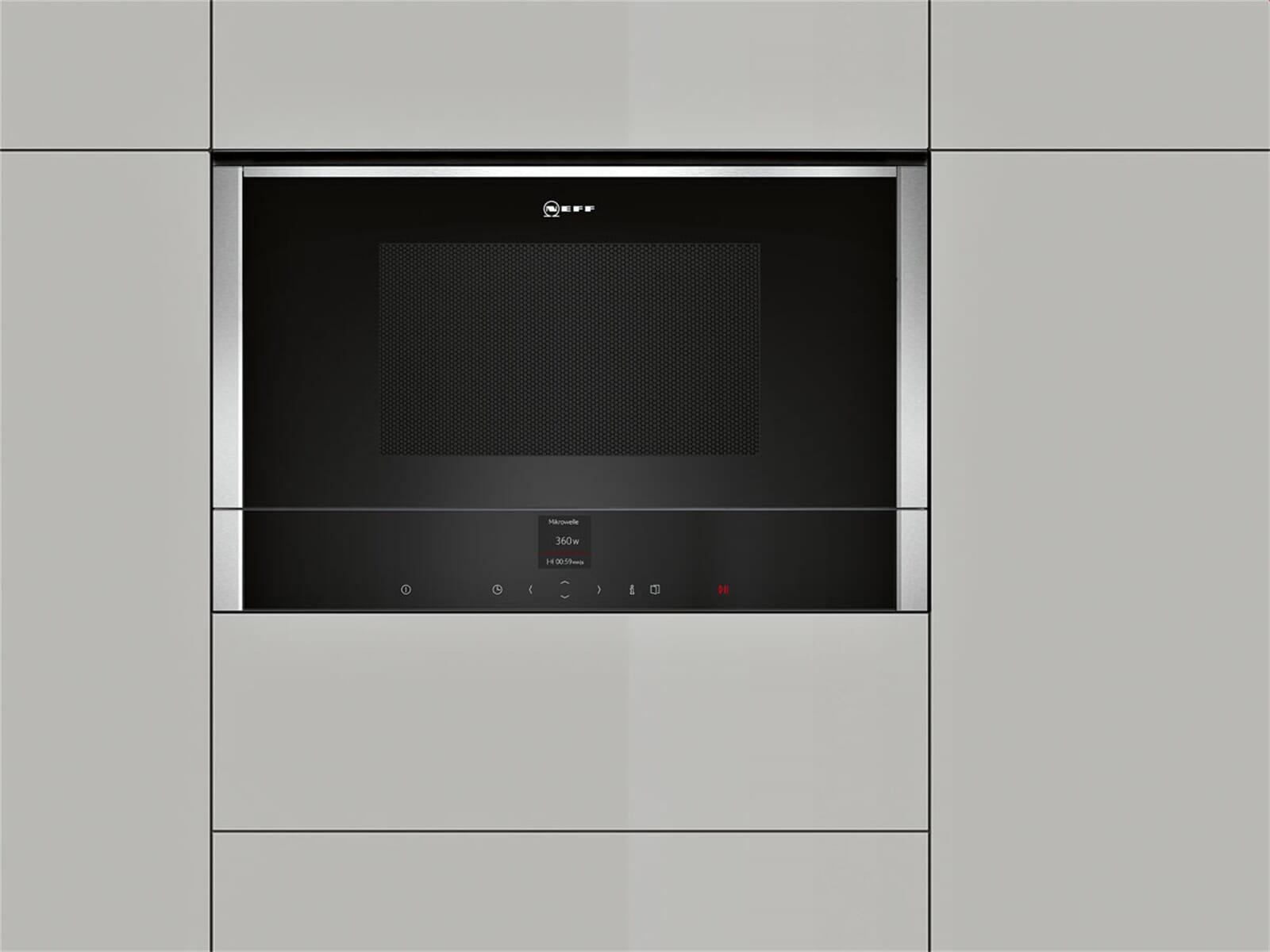 Neff CWR 1700 N Einbau-Mikrowelle Edelstahl