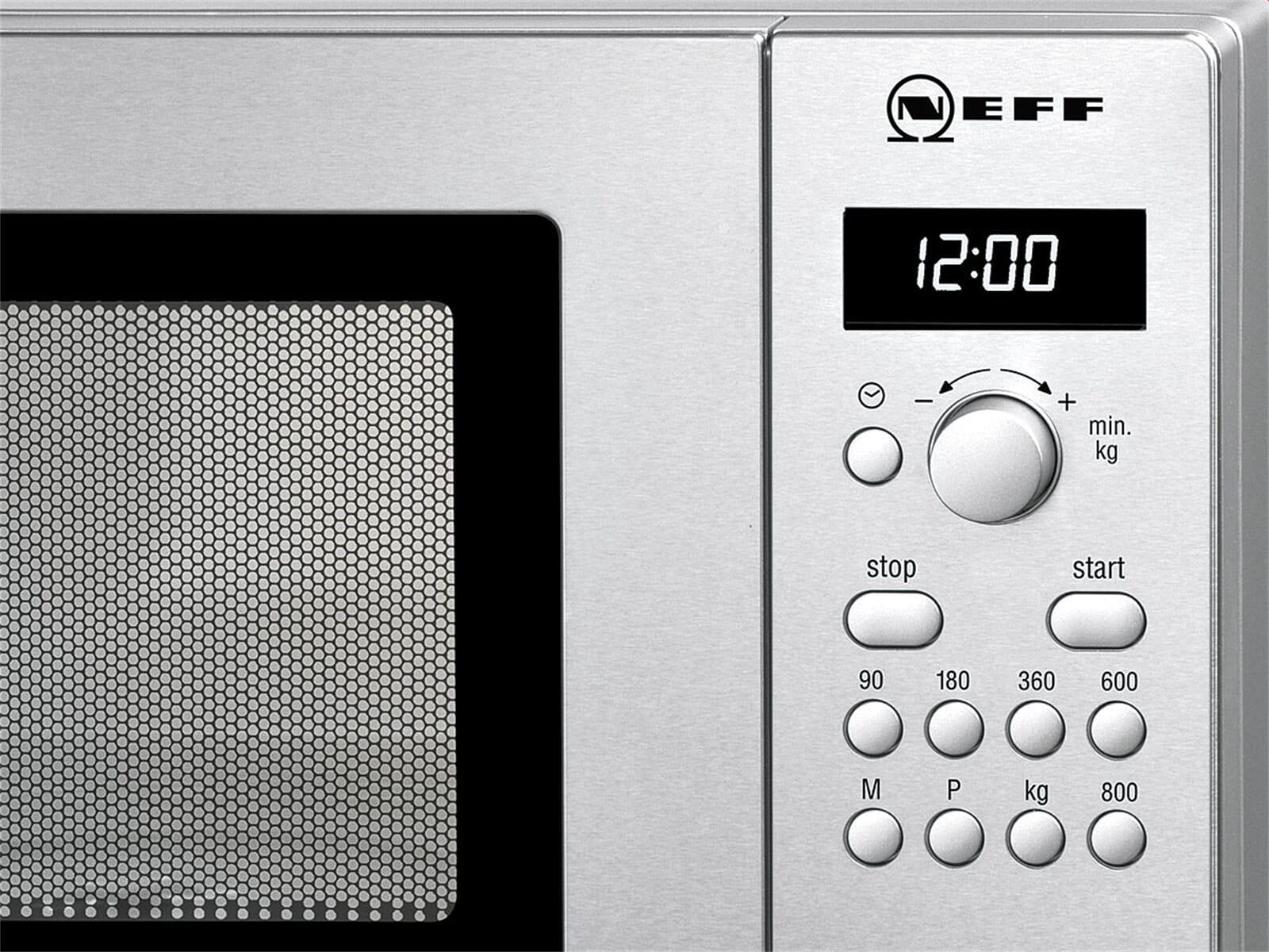 Neff HW 5220 N Stand-Mikrowelle Edelstahl