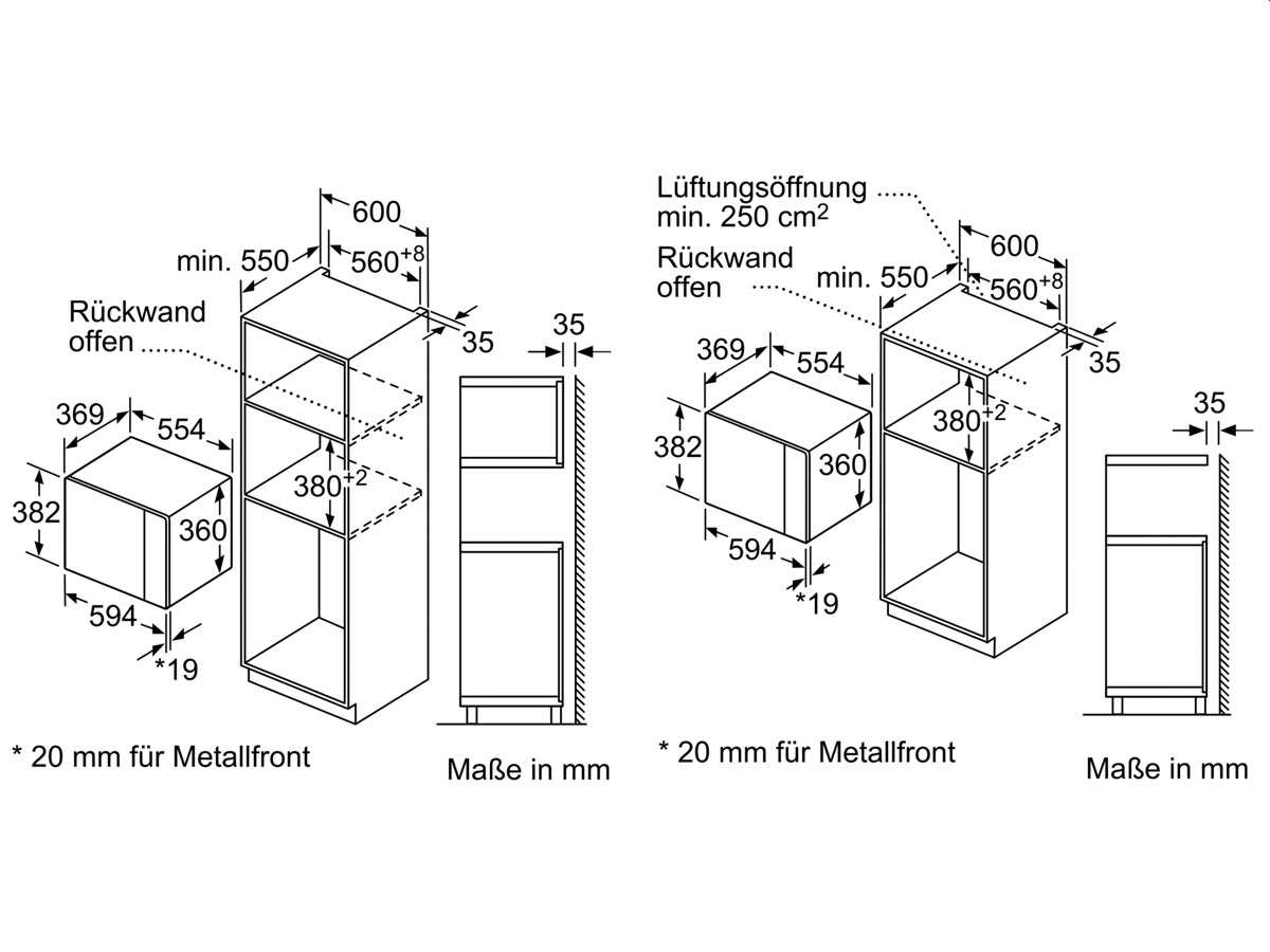 neff hwb53 einbau mikrowelle edelstahl. Black Bedroom Furniture Sets. Home Design Ideas