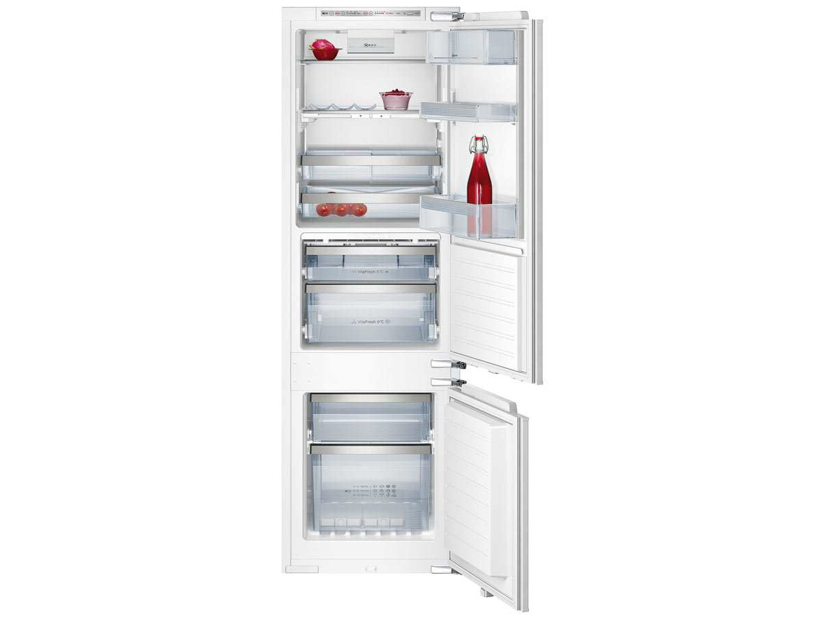 Side By Side Kühlschrank Neff : Neff k cool deluxe einbau kühl gefrierkombination