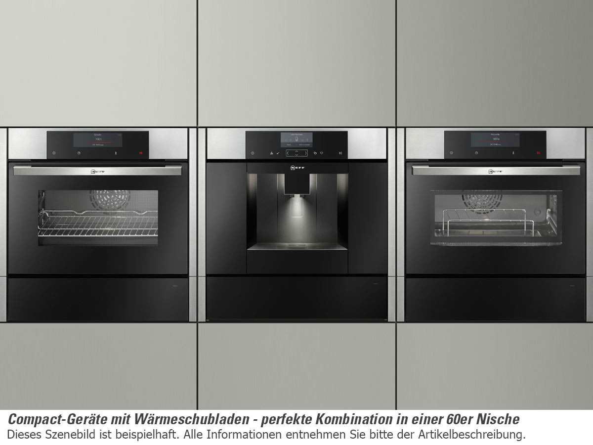 neff cmr 1502 n kompakt backofen mit mikrowelle edelstahl. Black Bedroom Furniture Sets. Home Design Ideas