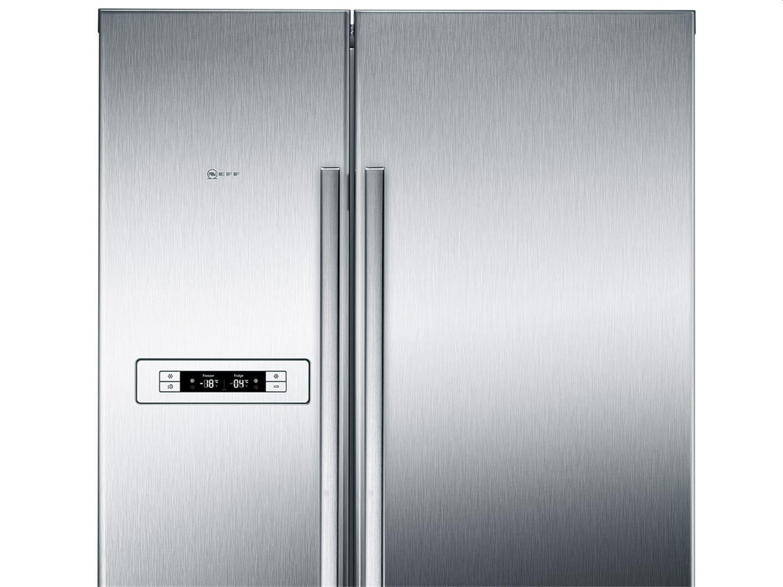 Neff Amerikanischer Kühlschrank Edelstahl : Neff ksa 778 a2 side by side kühl gefrier kombination edelstahl