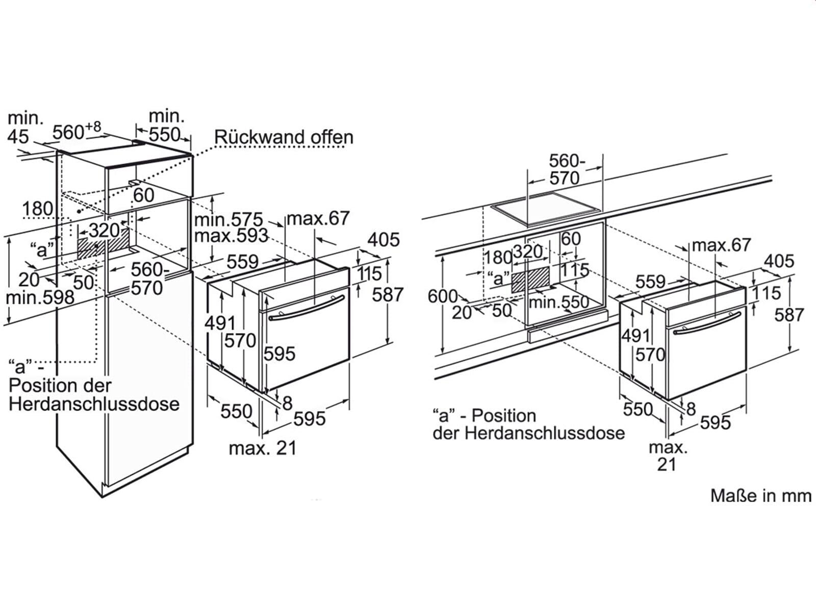 neff bp 1842 n pyrolyse backofen edelstahl. Black Bedroom Furniture Sets. Home Design Ideas