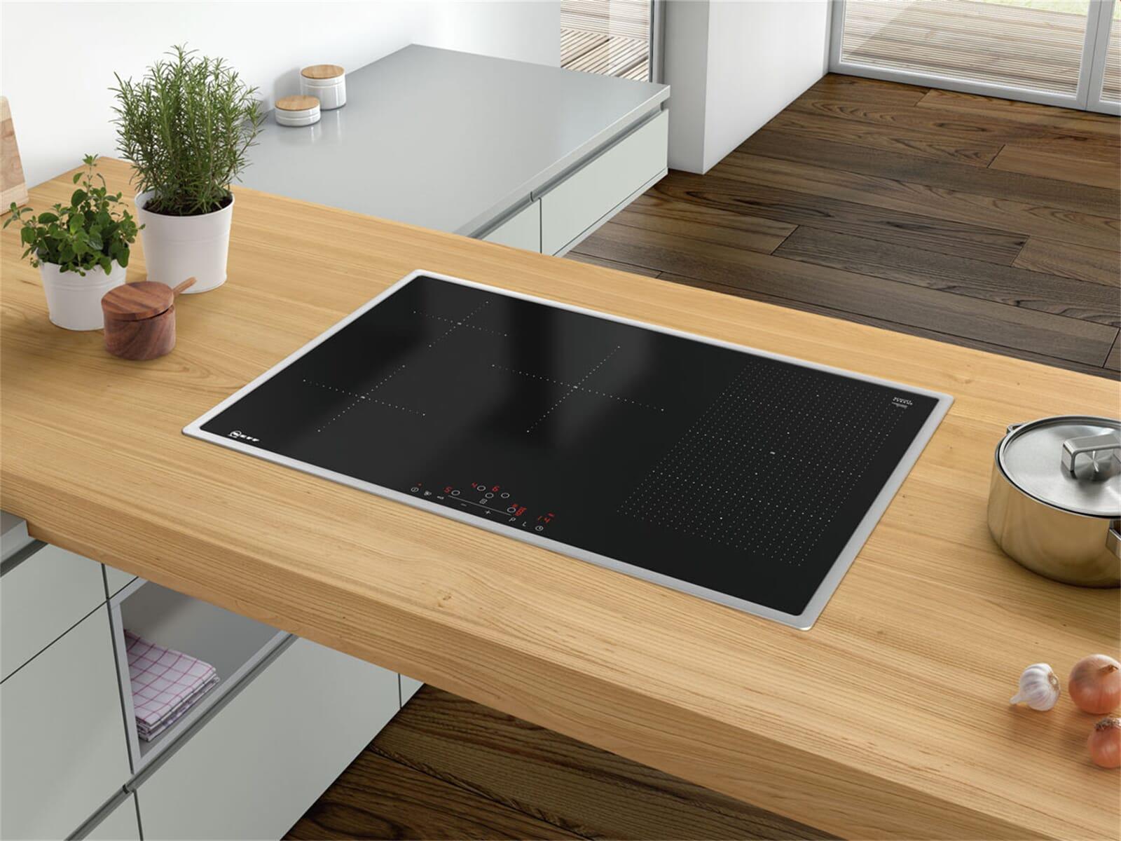 neff tbd 5820 n induktionskochfeld autark. Black Bedroom Furniture Sets. Home Design Ideas