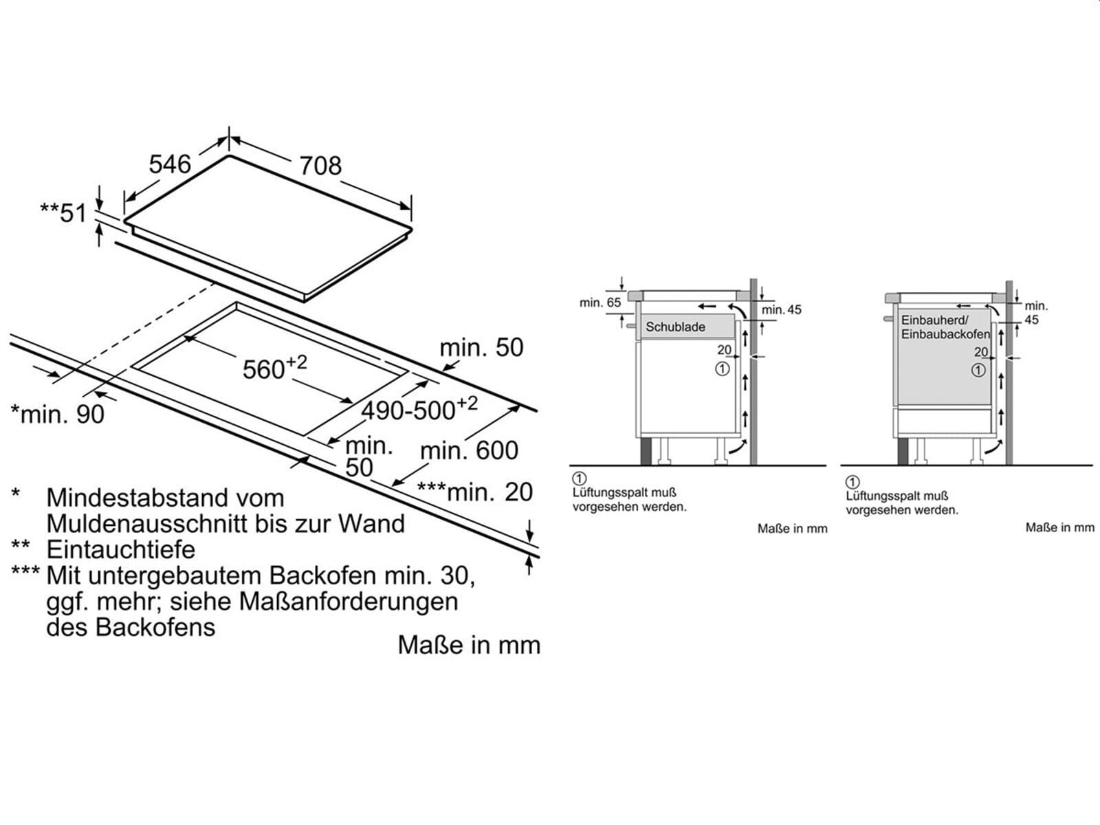 neff ttt 5760 n induktionskochfeld autark. Black Bedroom Furniture Sets. Home Design Ideas