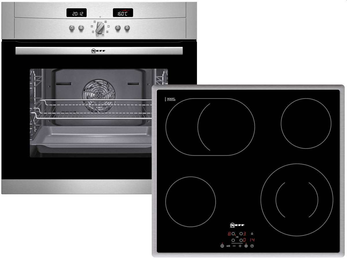 Neff Set X20BP4 Pyrolyse Backofen B18P42N3