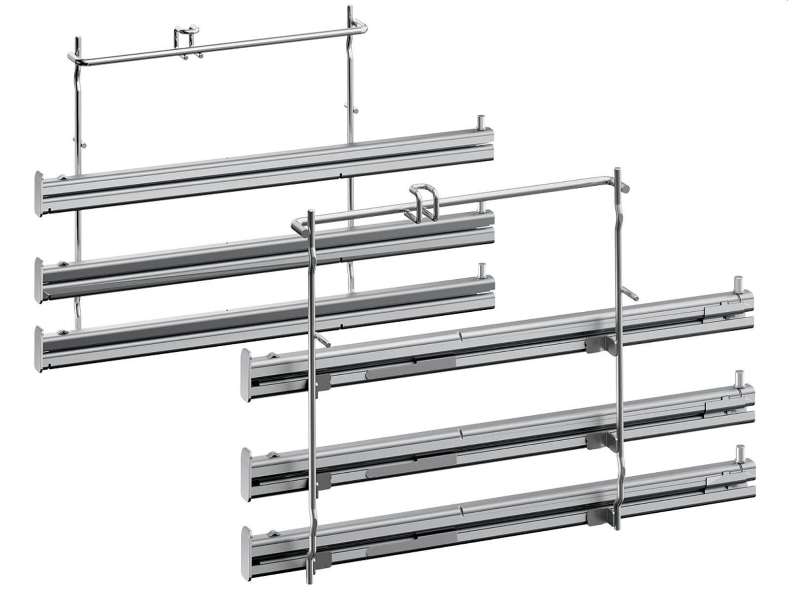 Neff Pyr 6011 Set Backofen BCR 2522 N + Glaskeramikkochfeld TBT 1676 N
