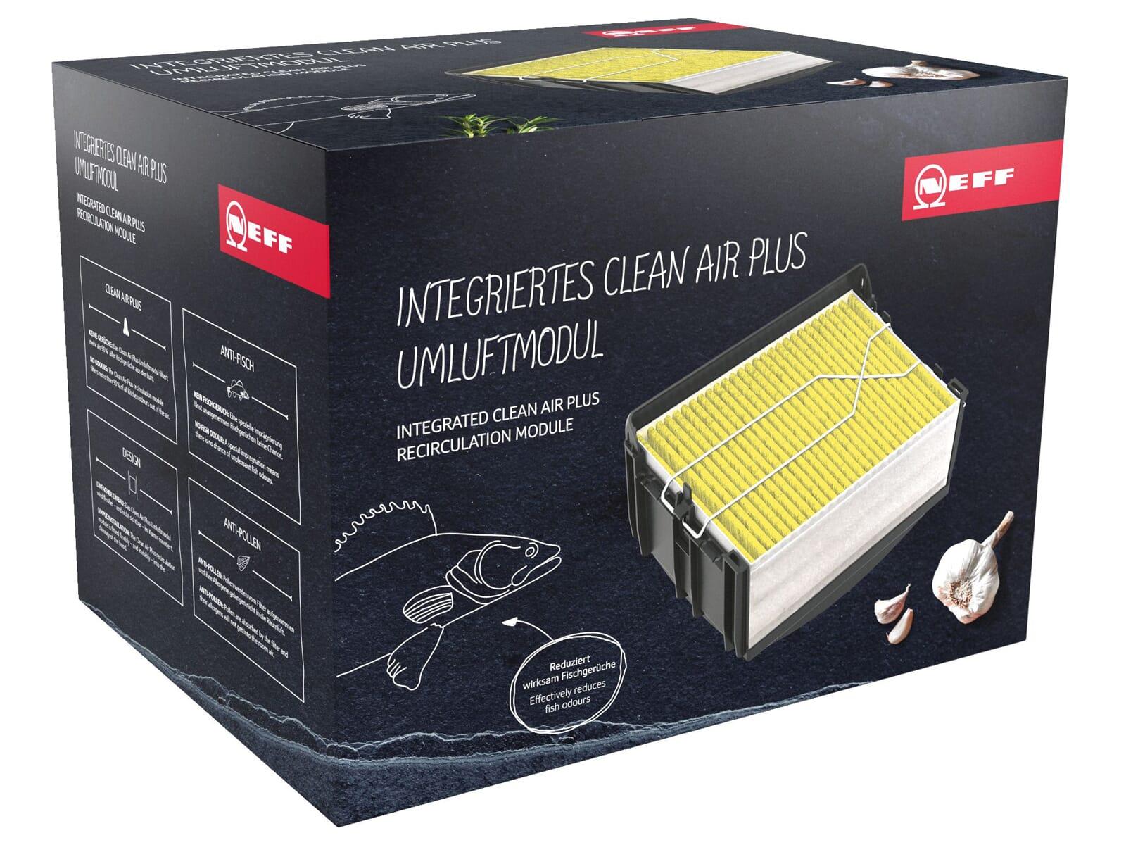 Neff Z51CXI1X6 Integriertes CleanAir Plus Umluftmodul