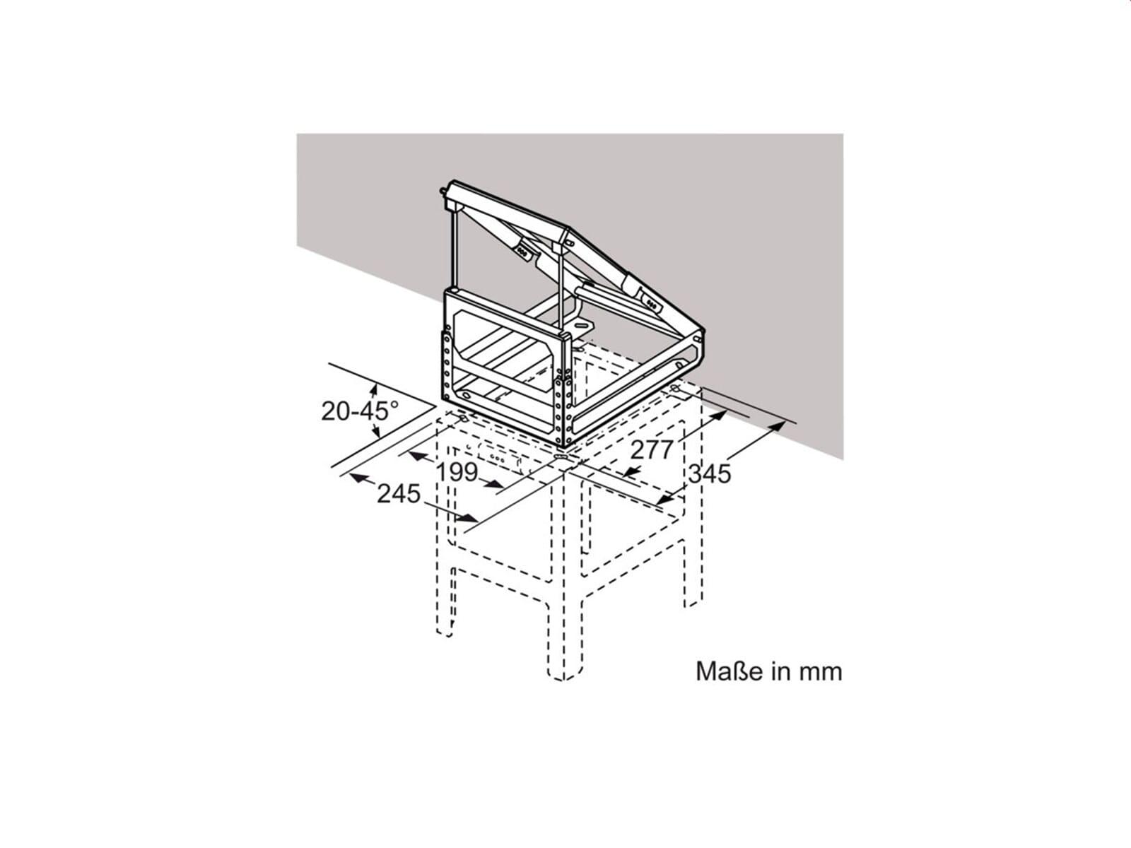 Neff Z5912X0 Adapter für Dachschrägen