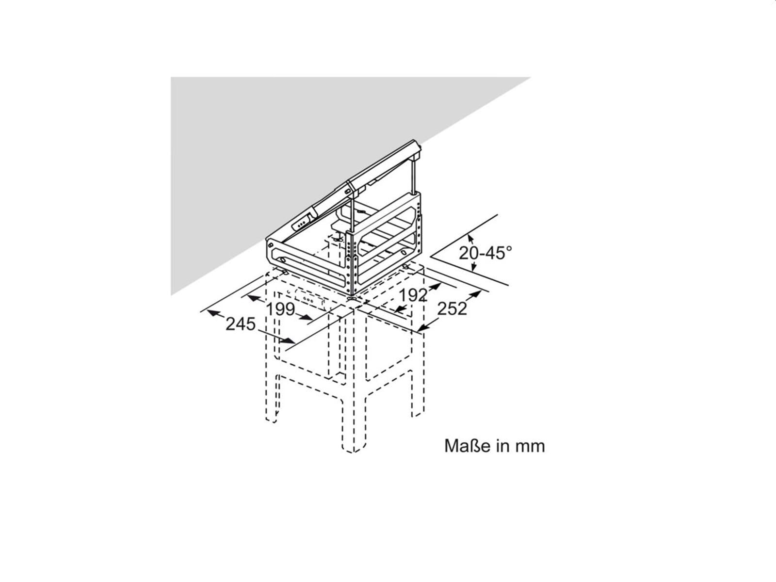 Neff Z5913X0 Adapter für Dachschrägen