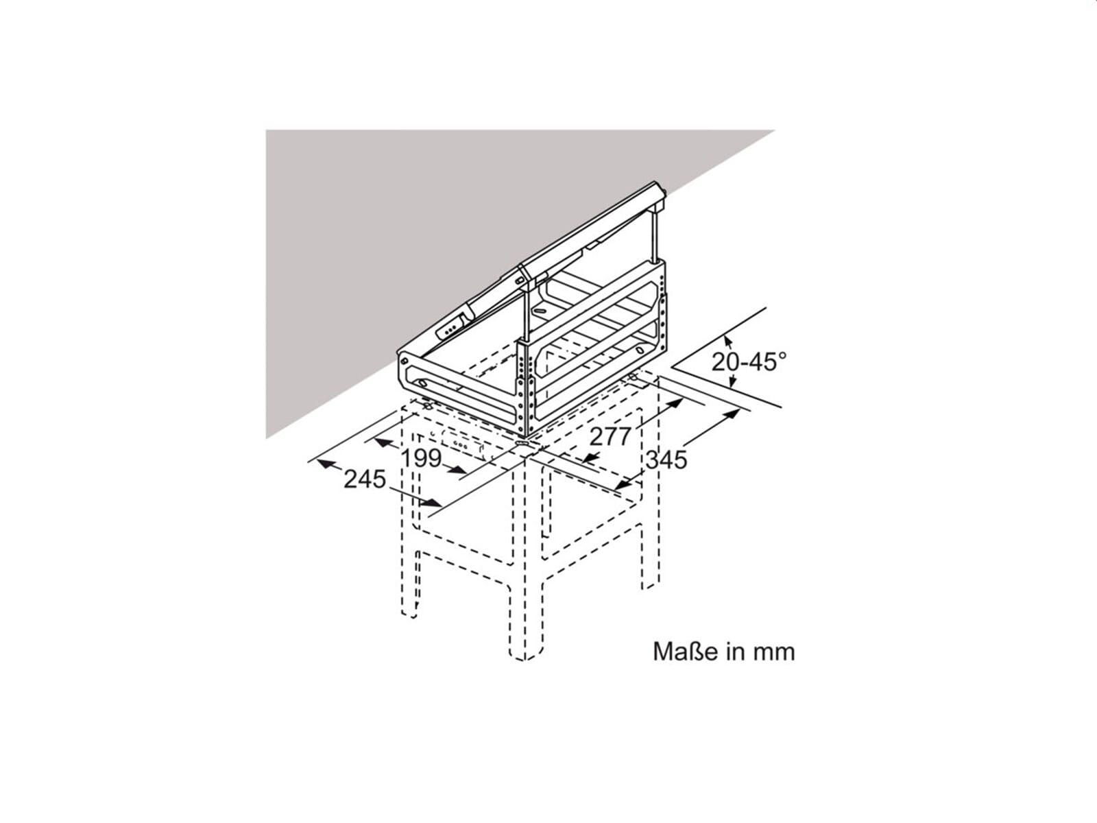 Neff Z5914X0 Adapter für Dachschrägen