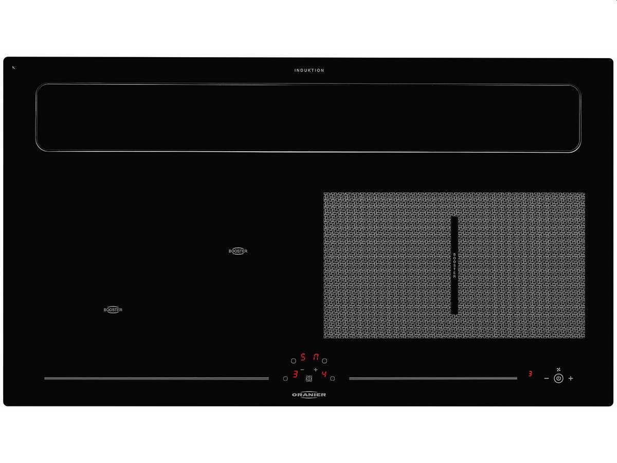 Oranier Clever-Set 20 - 9905 20 Backofen EBS 9936 + Kochfeldabzug KXI 1092 70 Umluft