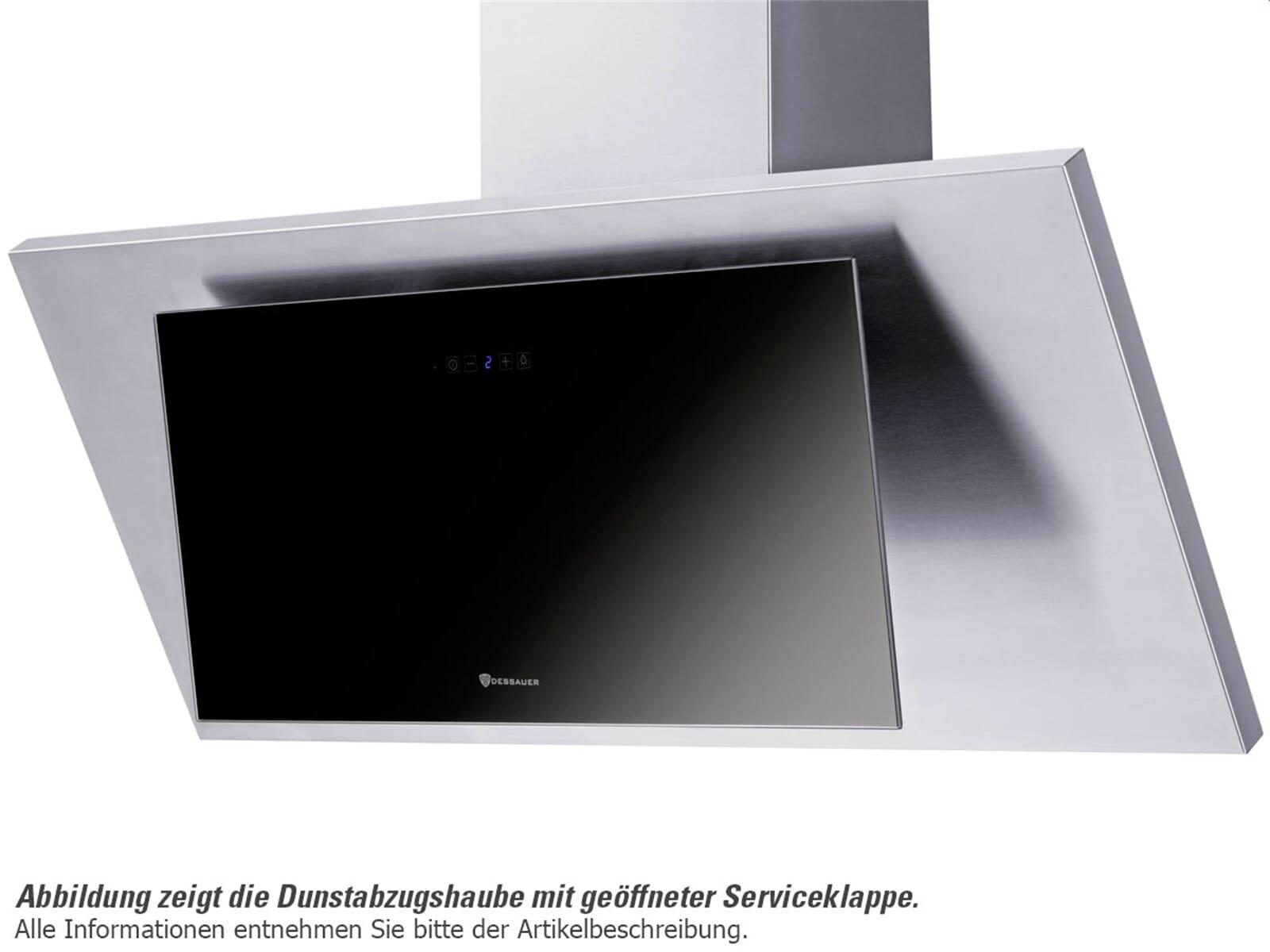 Dessauer Boria 60 E - 9954 63 Kopffreihaube 60 cm Edelstahl/Schwarz
