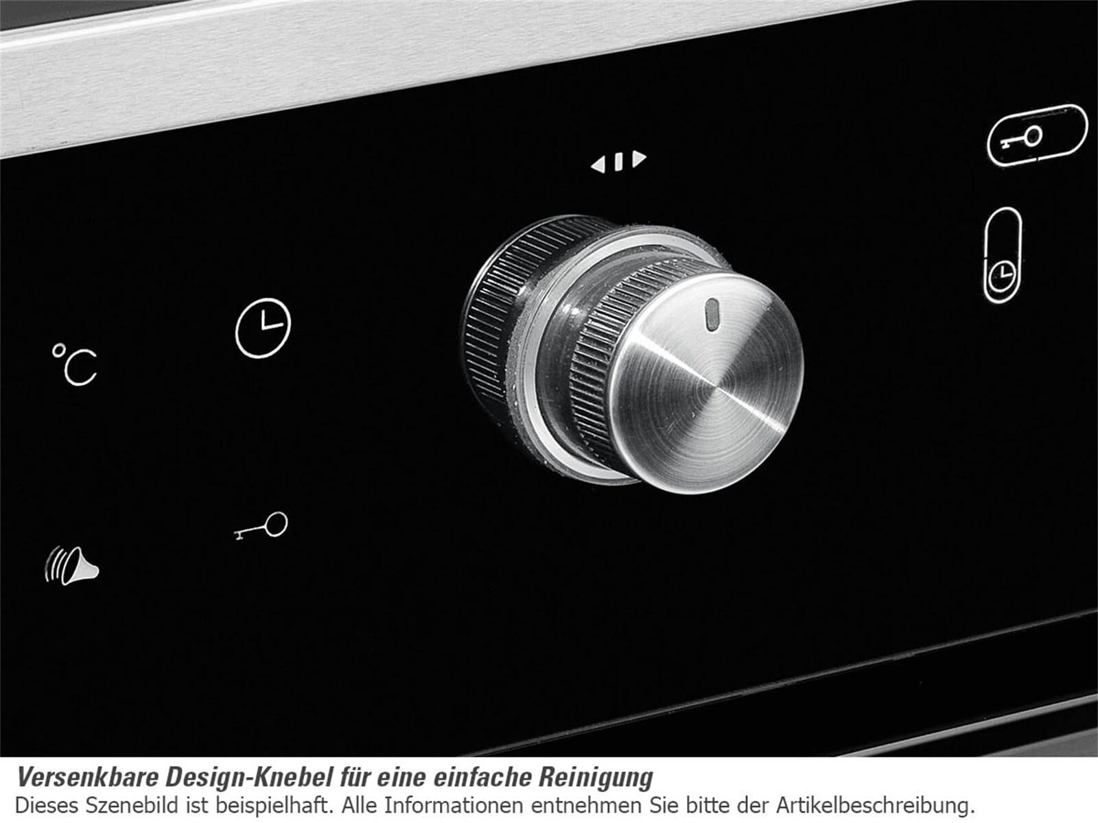Dessauer EB 9946 09 - 9946 09 Backofen Edelstahl/Schwarz