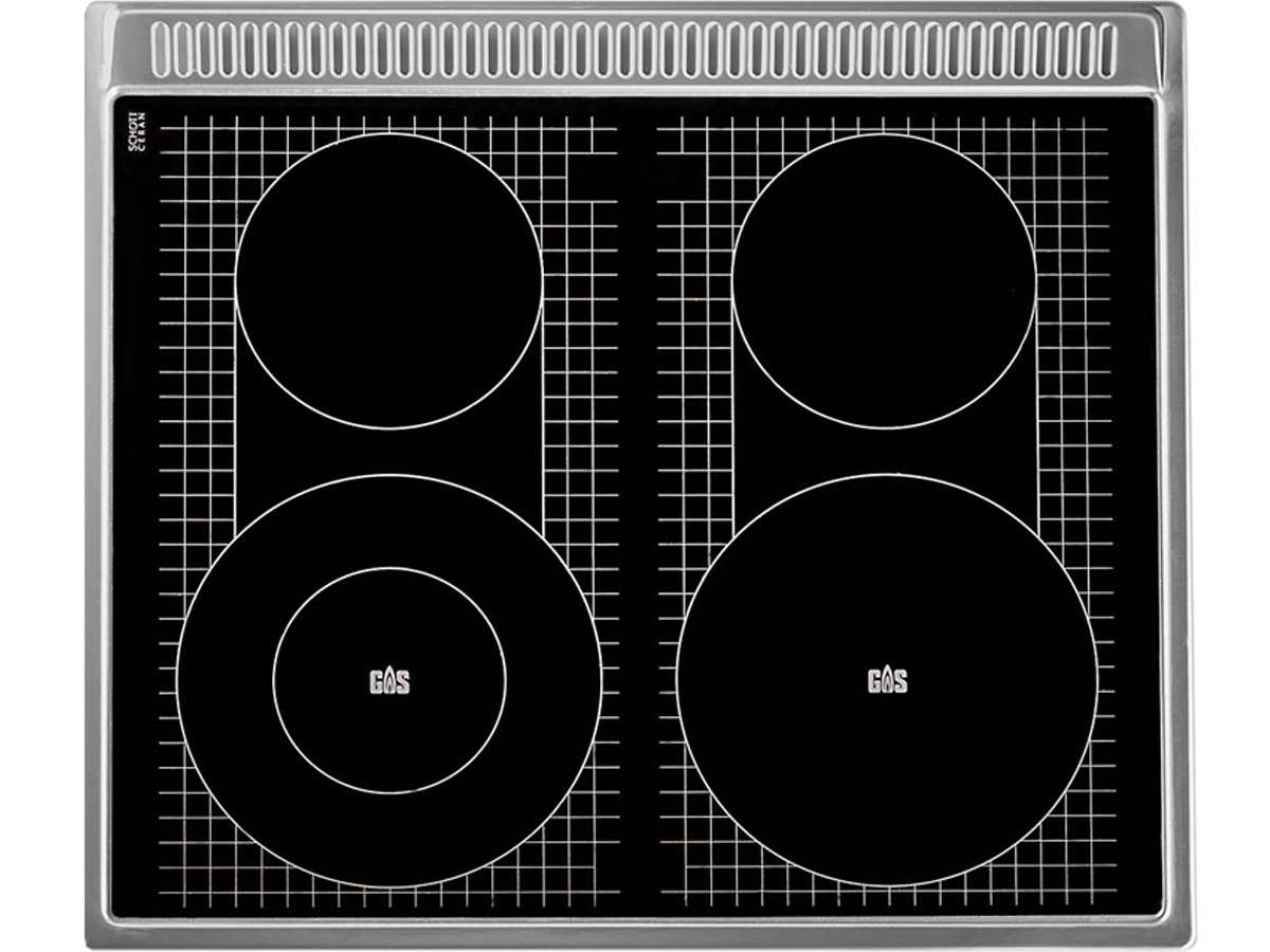 oranier set herd ehg 3010 gas unter glas kochfeld ekg 6 05. Black Bedroom Furniture Sets. Home Design Ideas