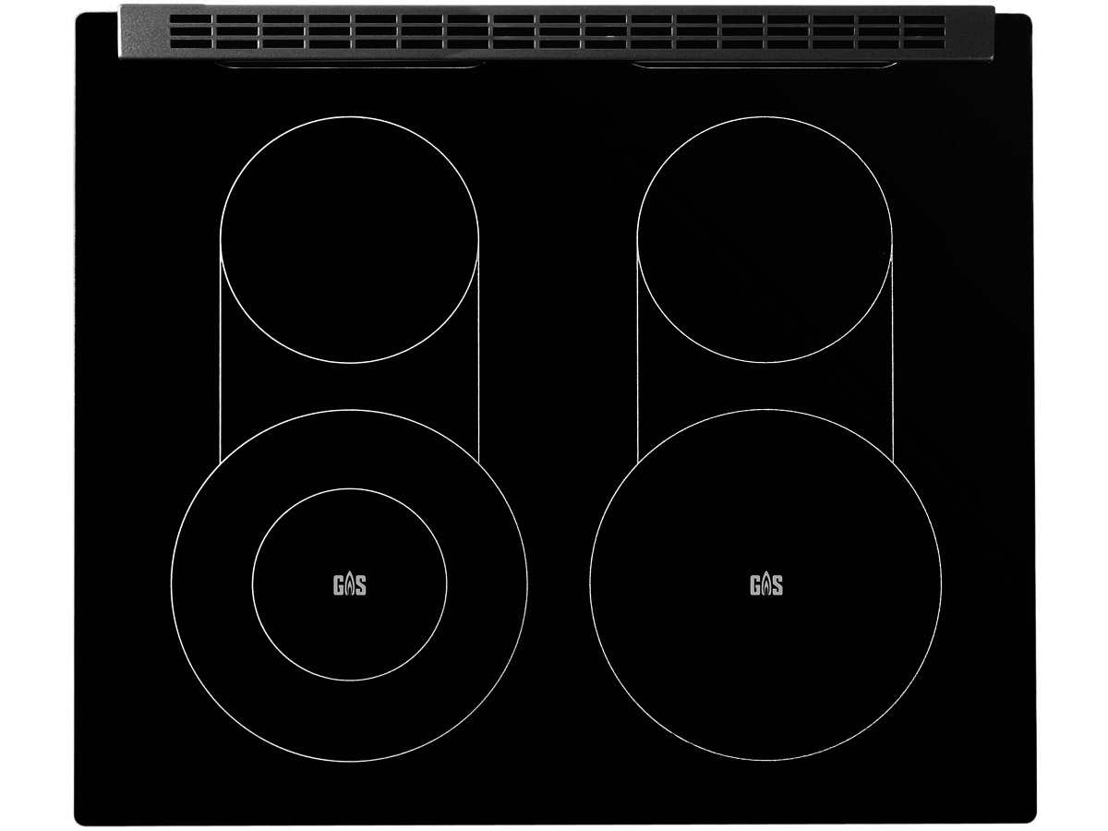 oranier set herd ehg 3010 gas unter glas kochfeld ekg 6 08 ebay. Black Bedroom Furniture Sets. Home Design Ideas