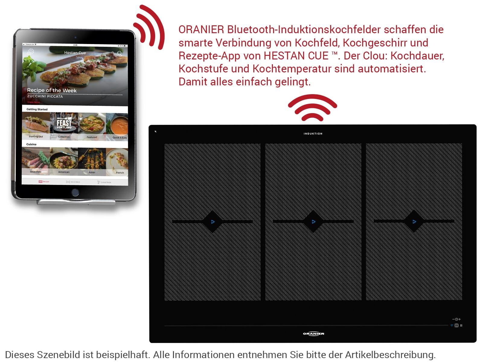 Oranier Clever-Set 41 - 9905 41 Backofen EBS 9936 + Induktionskochfeld FLI 2088 bc