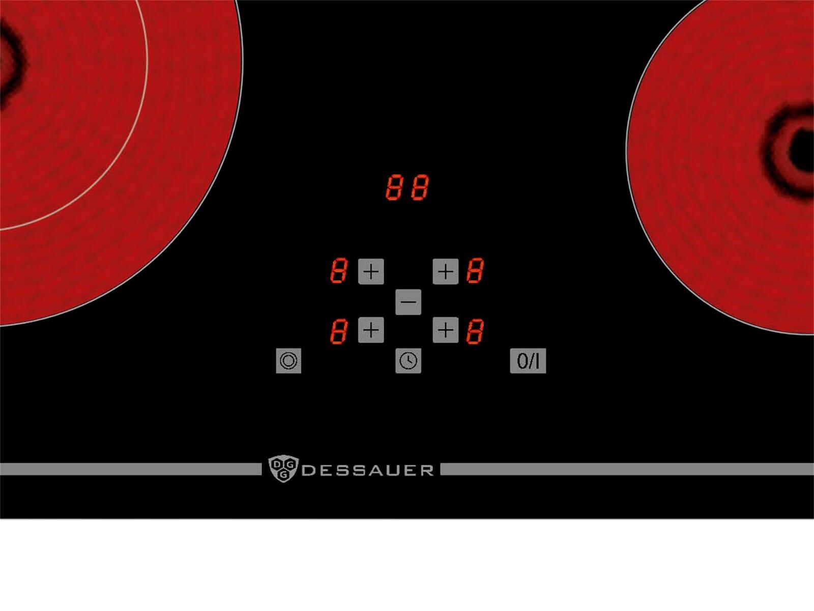 Dessauer KF 9972 60 Glaskeramikkochfeld autark