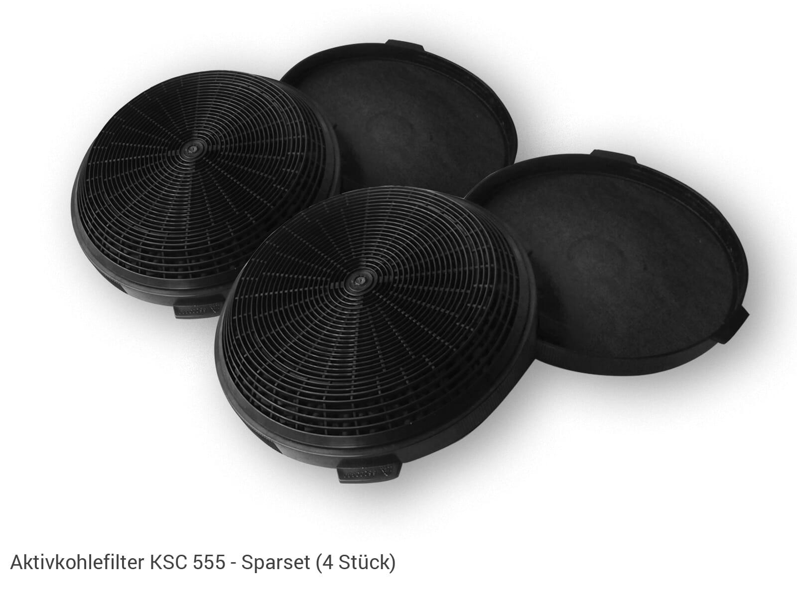 Oranier KSC 555 Aktiv-Kohlefilter Sparset (4 Stück)
