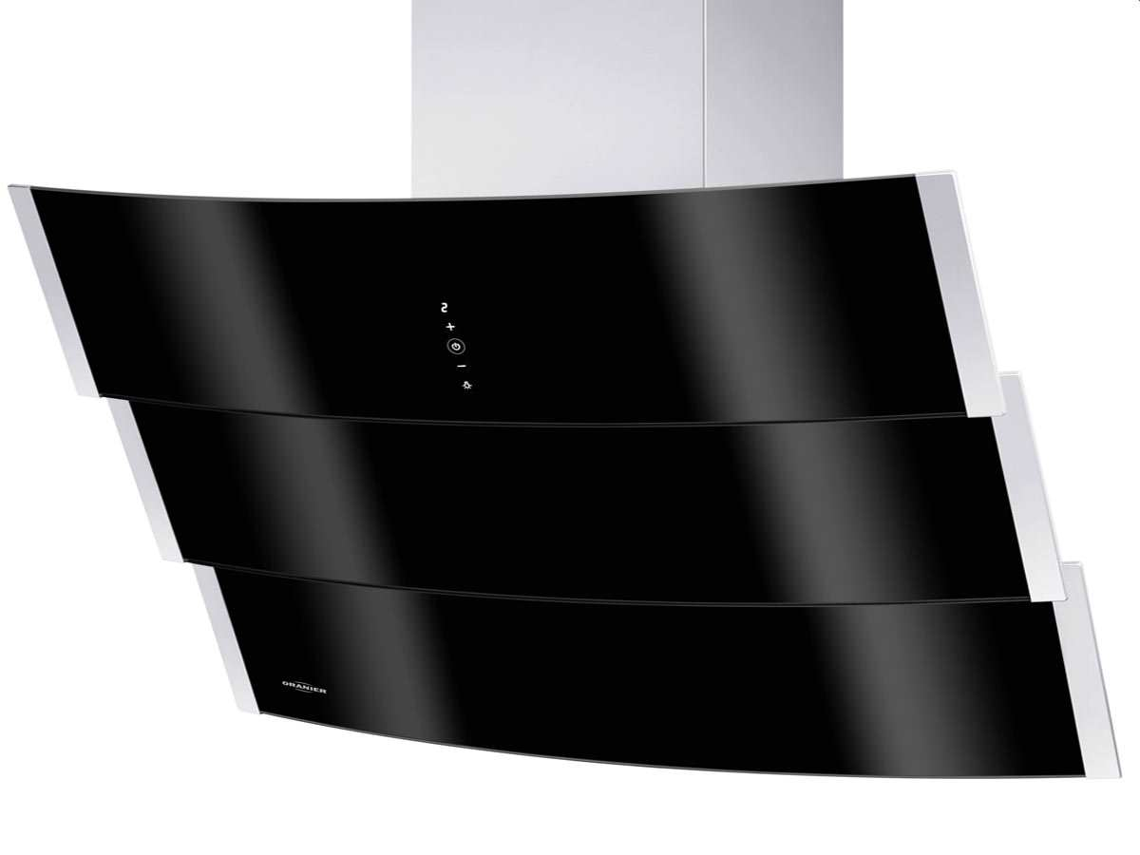 oranier livario 90 s 8614 90 kopffreihaube edelstahl schwarz. Black Bedroom Furniture Sets. Home Design Ideas