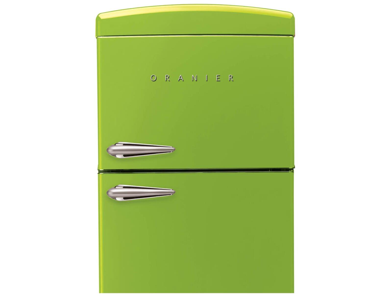 Oranier Retro Kühlschrank : Oranier rkg kühl gefrierkombination lindgrün