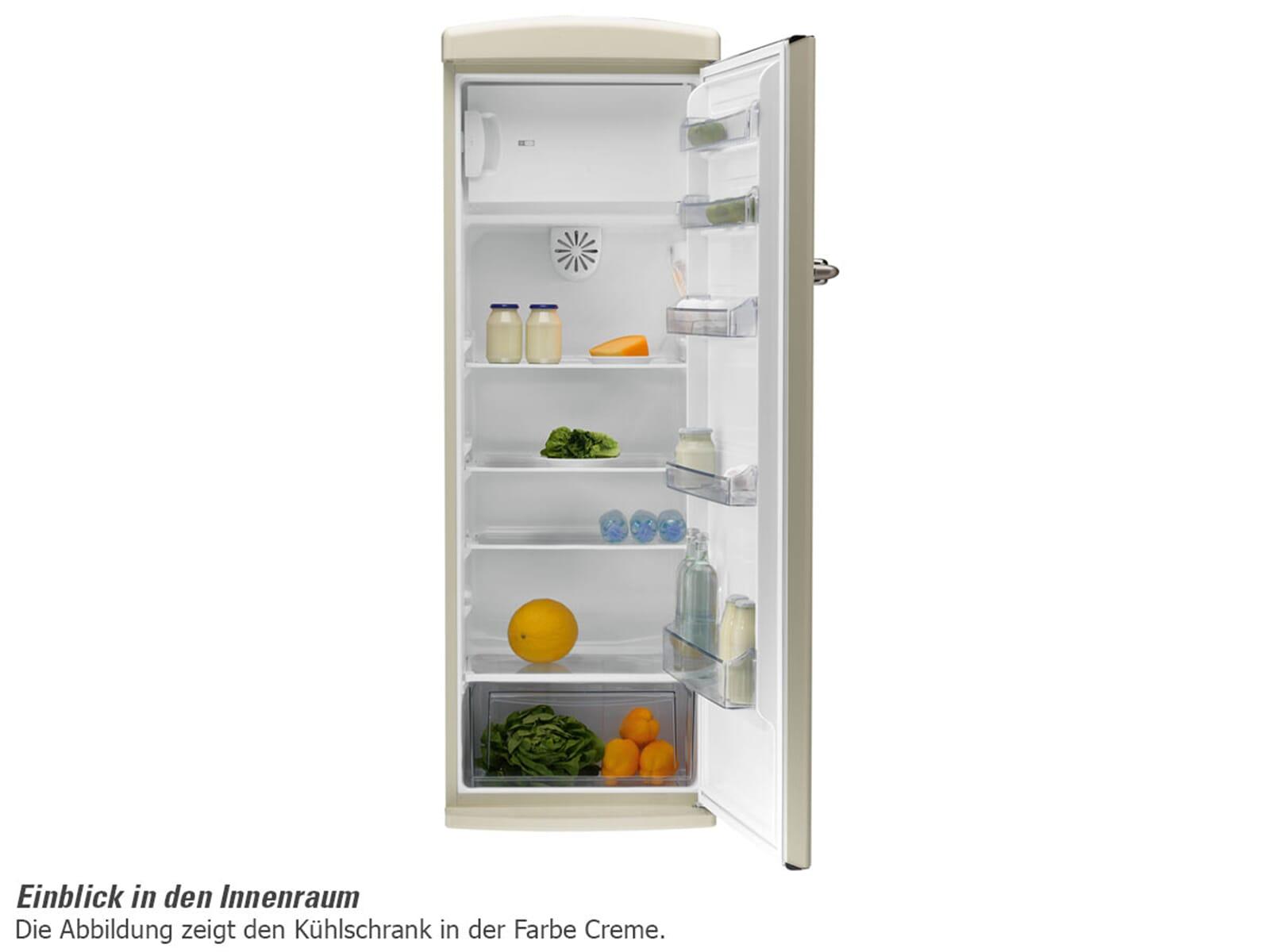 Retro Kühlschrank Oranier : Oranier rks standkühlschrank rot