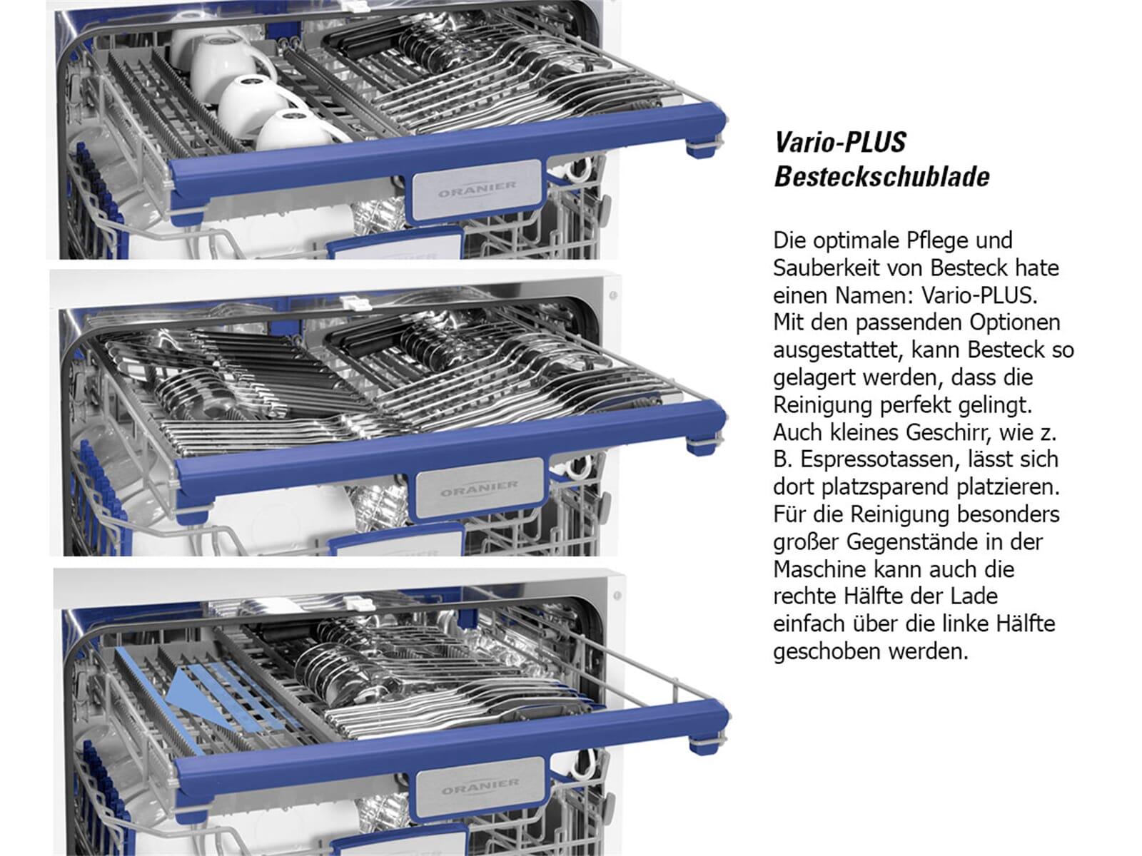Oranier GAVI 7586 - 7586 62 Vollintegrierbarer Einbaugeschirrspüler