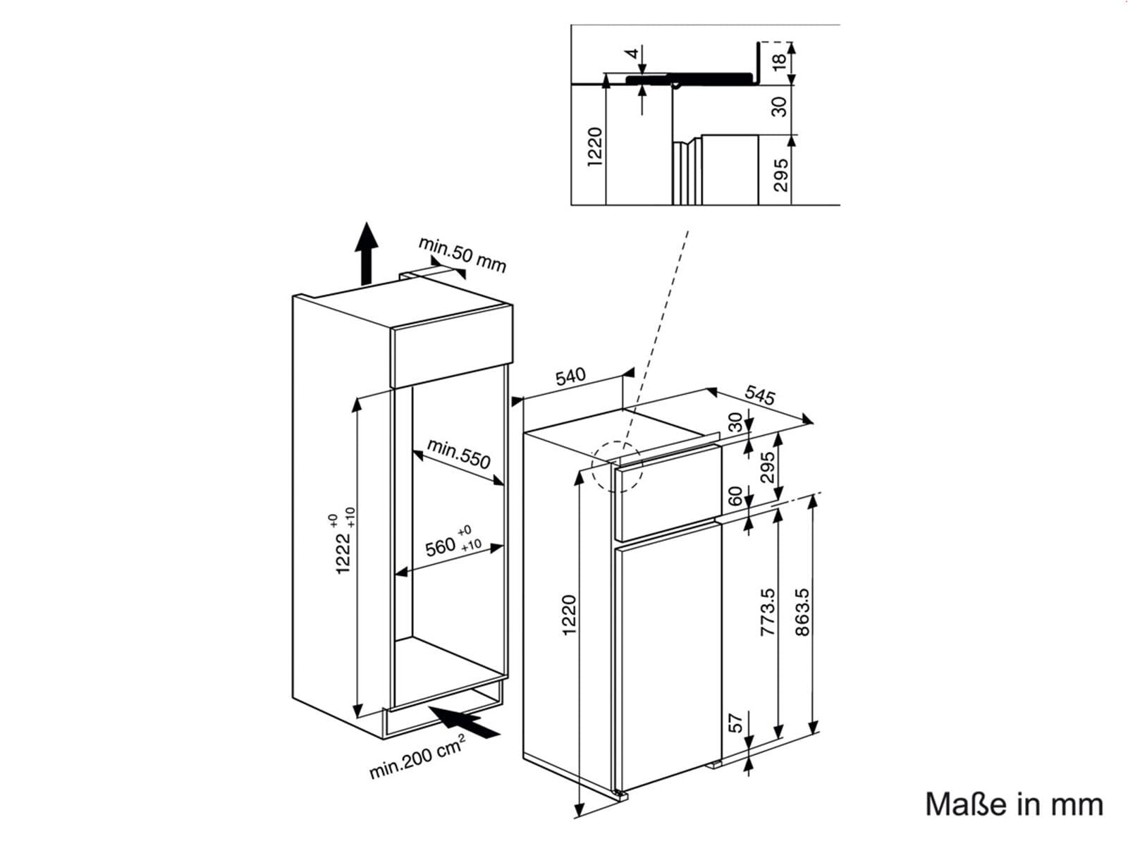 privileg prt 375 a einbau k hl gefrierkombination. Black Bedroom Furniture Sets. Home Design Ideas