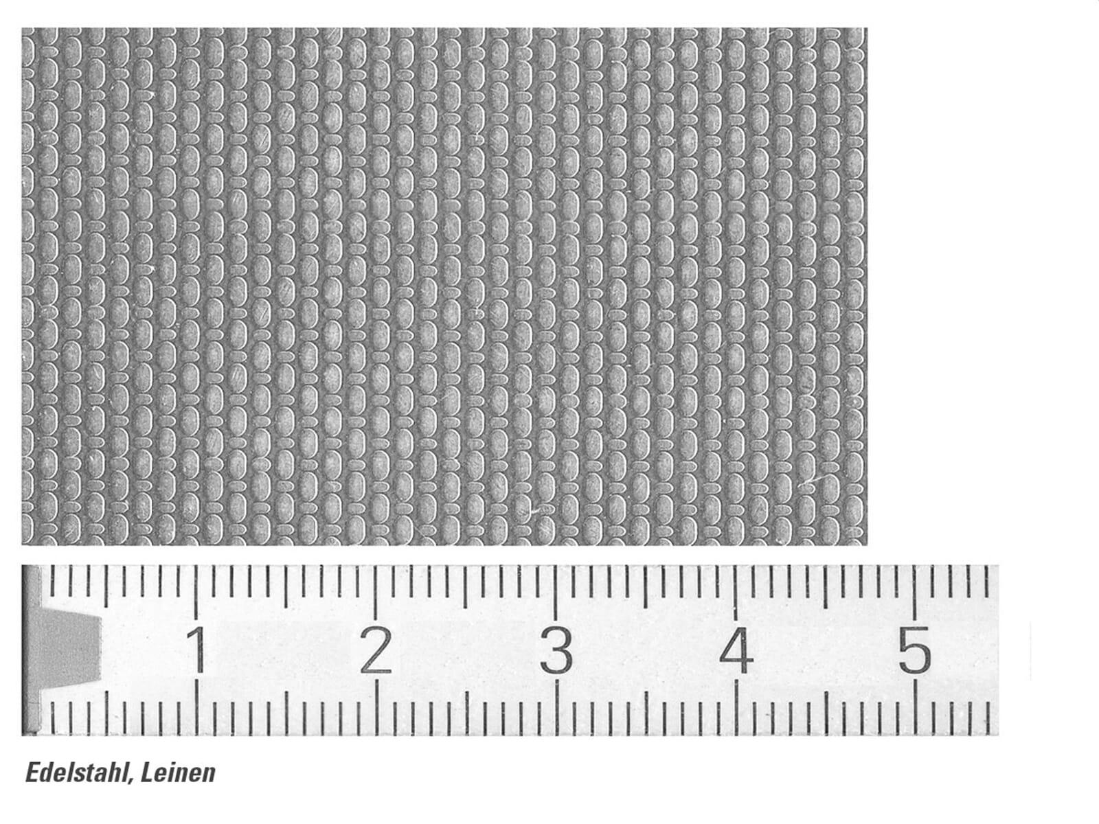 Pyramis Sparta (100x50) 1 1/2B 1D Edelstahlspüle Leinen