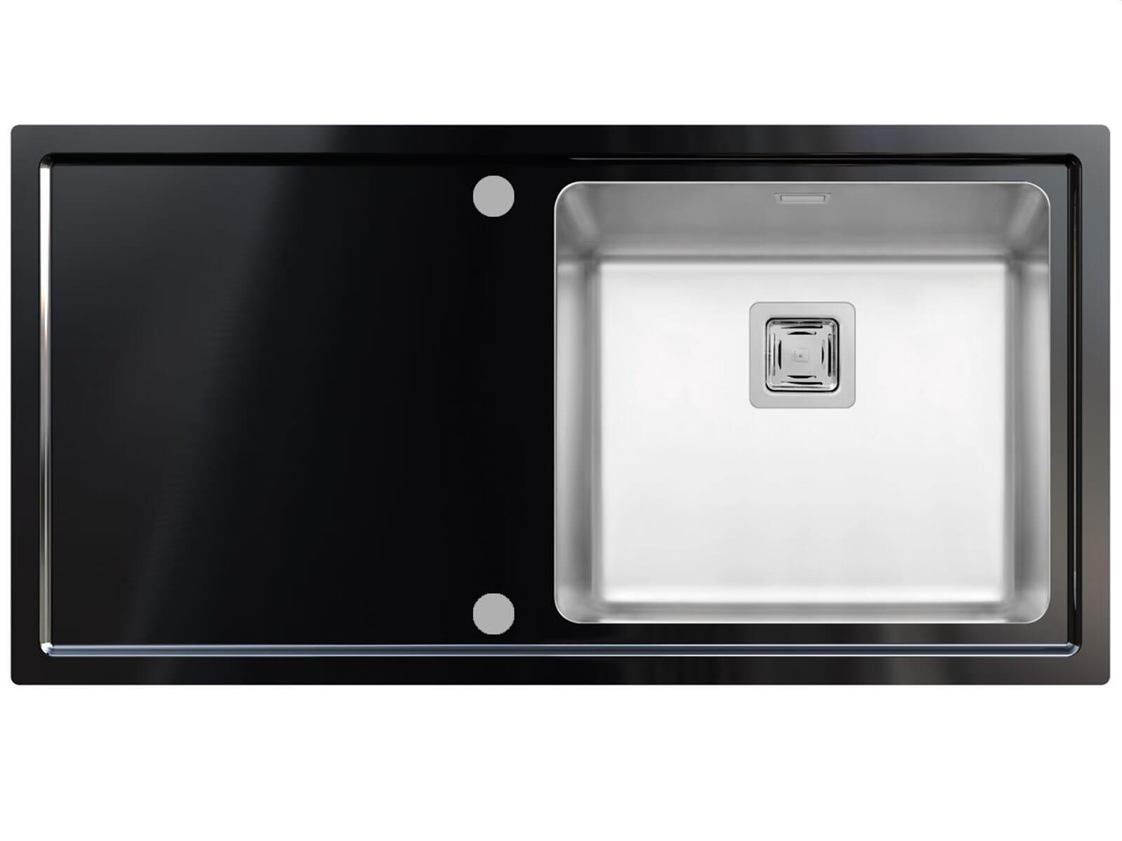 einbausp le edelstahl glas eckventil waschmaschine. Black Bedroom Furniture Sets. Home Design Ideas