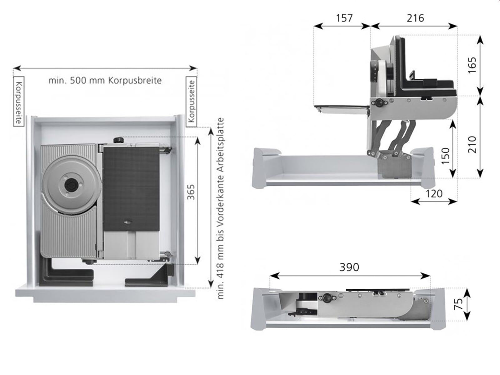 ritter aes 72 sr h multi schneider silbermetallic. Black Bedroom Furniture Sets. Home Design Ideas