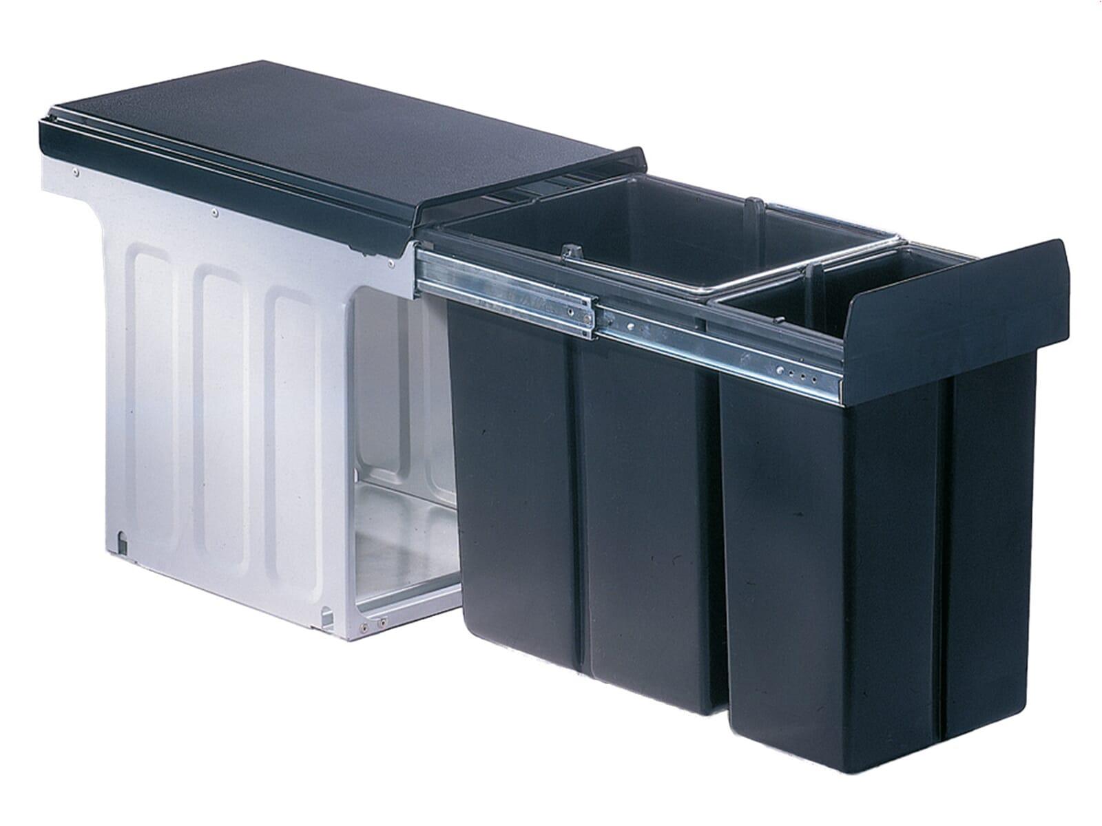 wesco bio double profi 857421 11 einbau abfallsammler. Black Bedroom Furniture Sets. Home Design Ideas