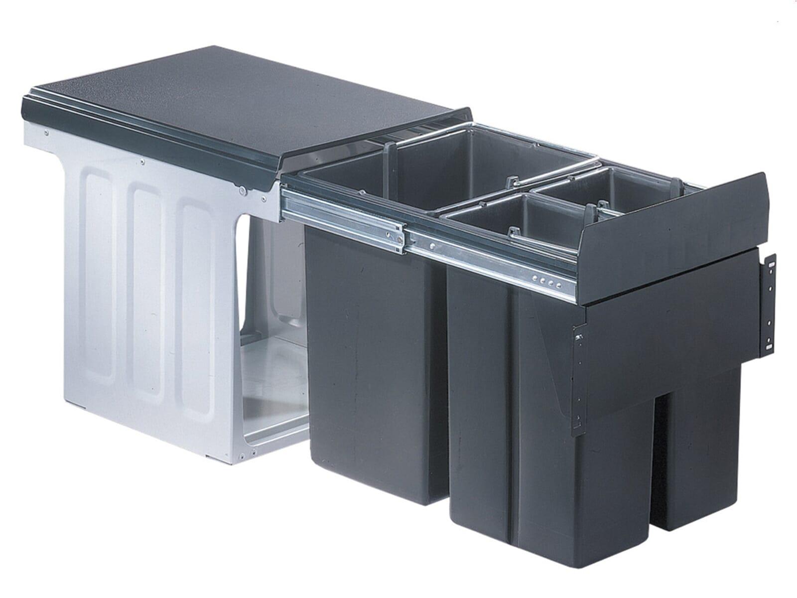 wesco bio trio profi front 40 885401 11 einbau abfallsammler. Black Bedroom Furniture Sets. Home Design Ideas