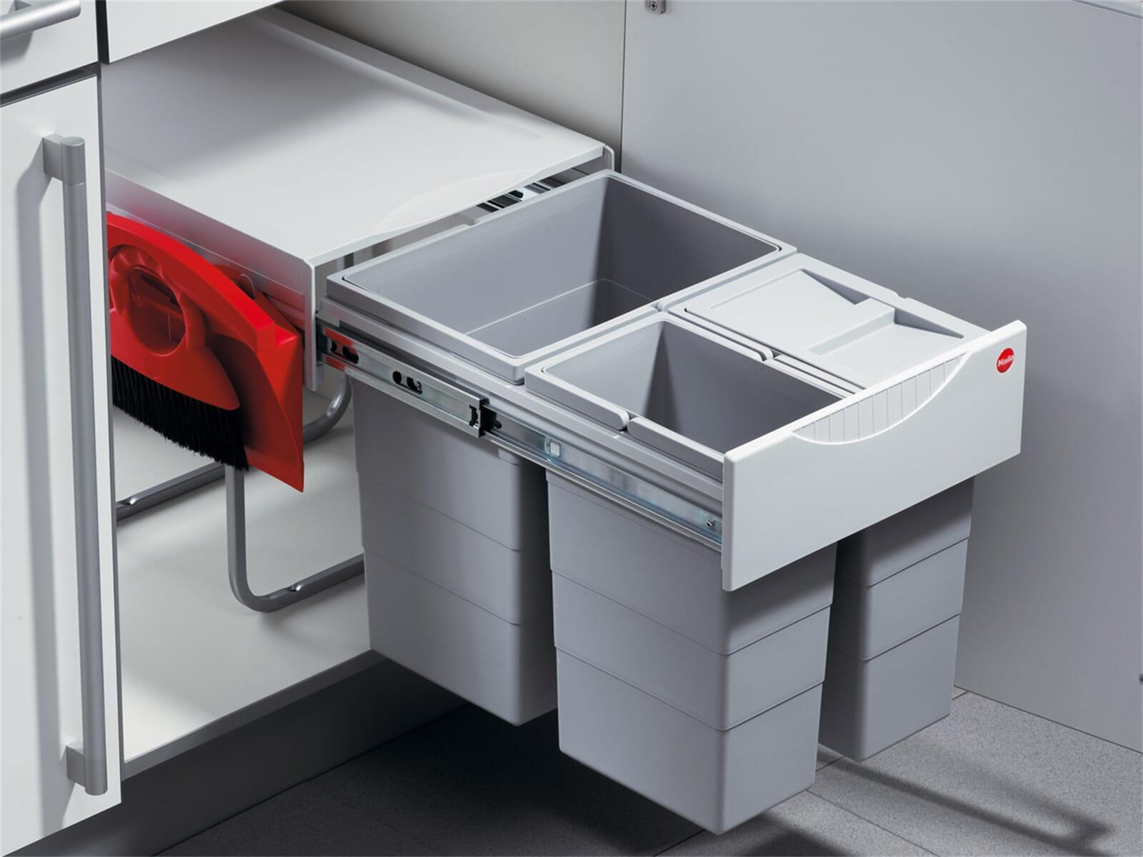 hailo raumspar tandem comfort 3642 23 einbau abfallsammler. Black Bedroom Furniture Sets. Home Design Ideas
