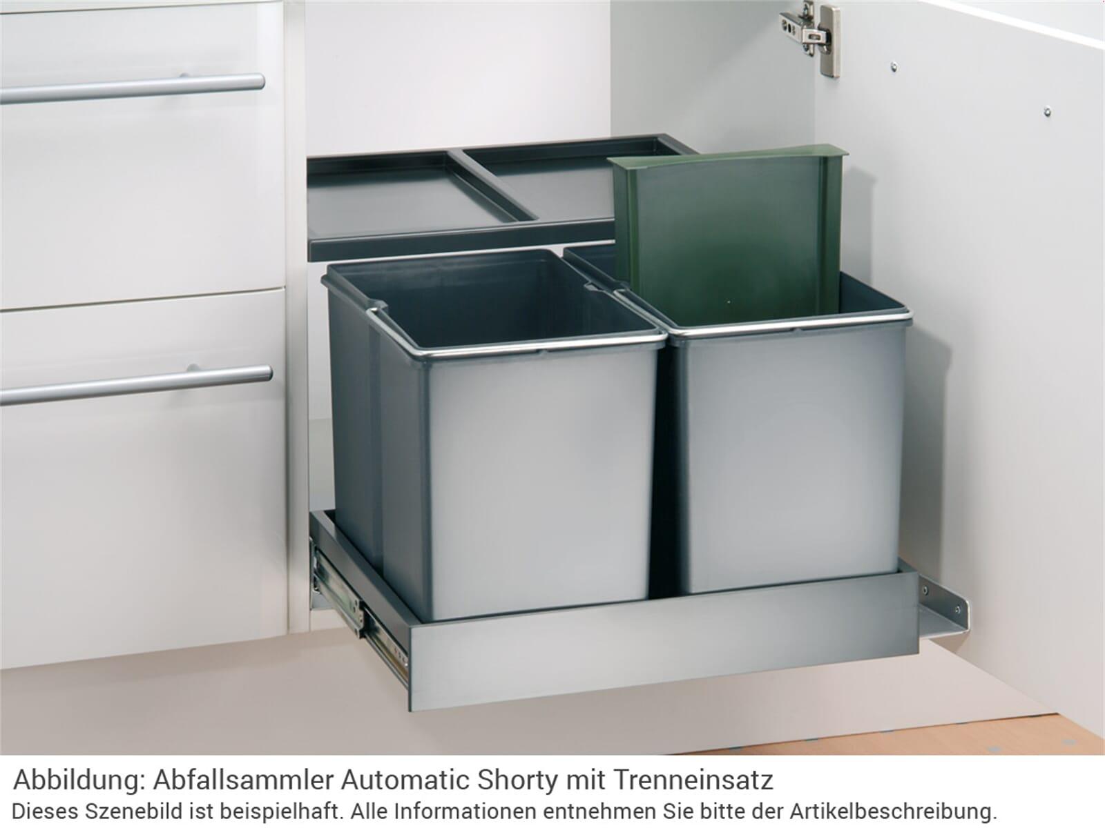 wesco automatic shorty 757311 11 einbau abfallsammler. Black Bedroom Furniture Sets. Home Design Ideas