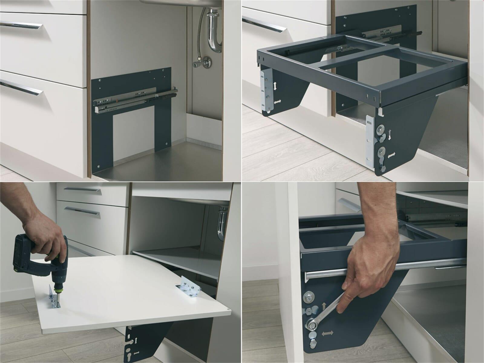 wesco sortomaxx 840503 60 einbau abfallsammler. Black Bedroom Furniture Sets. Home Design Ideas