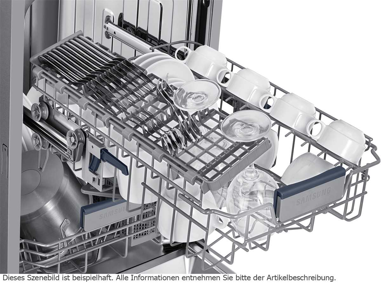 Samsung DW50R4060BB/EO Vollintegrierbarer Einbaugeschirrspüler