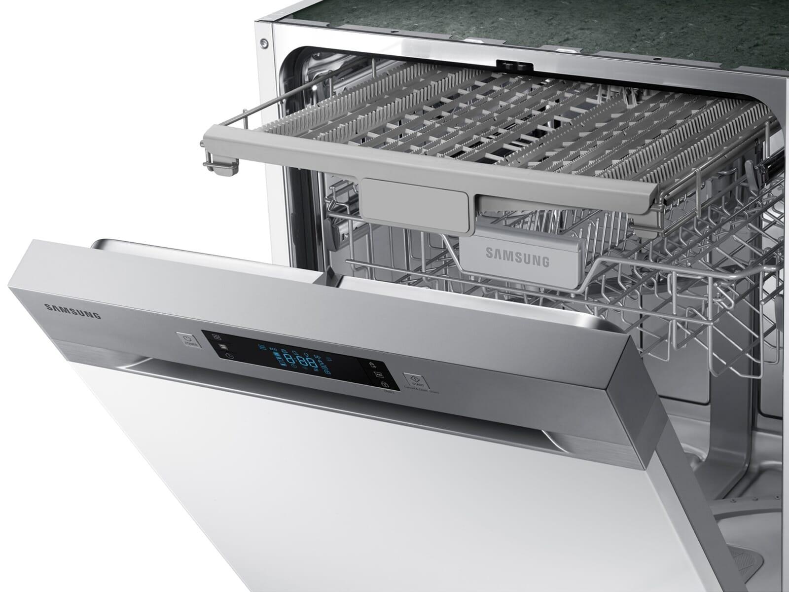 Samsung DW60M6031SS/EG Teilintegrierbarer Einbaugeschirrspüler