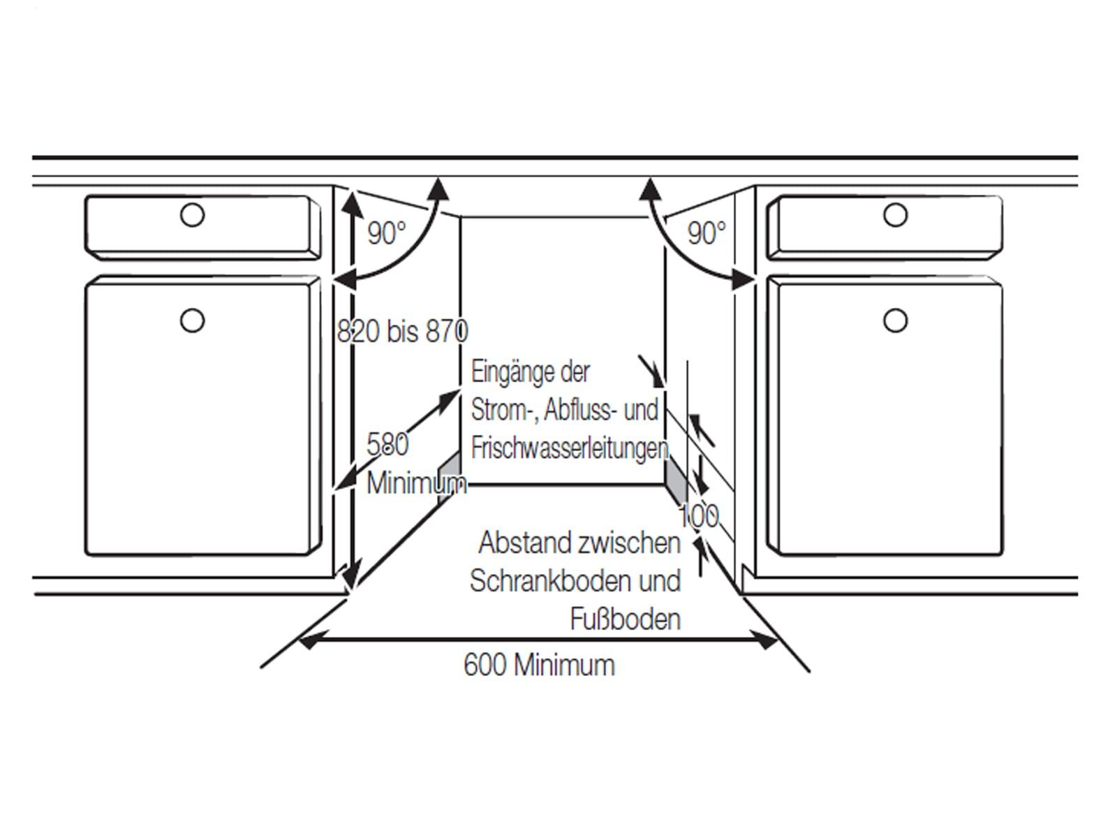 Samsung DW6KM5031BB/EG Vollintegrierbarer Einbaugeschirrspüler